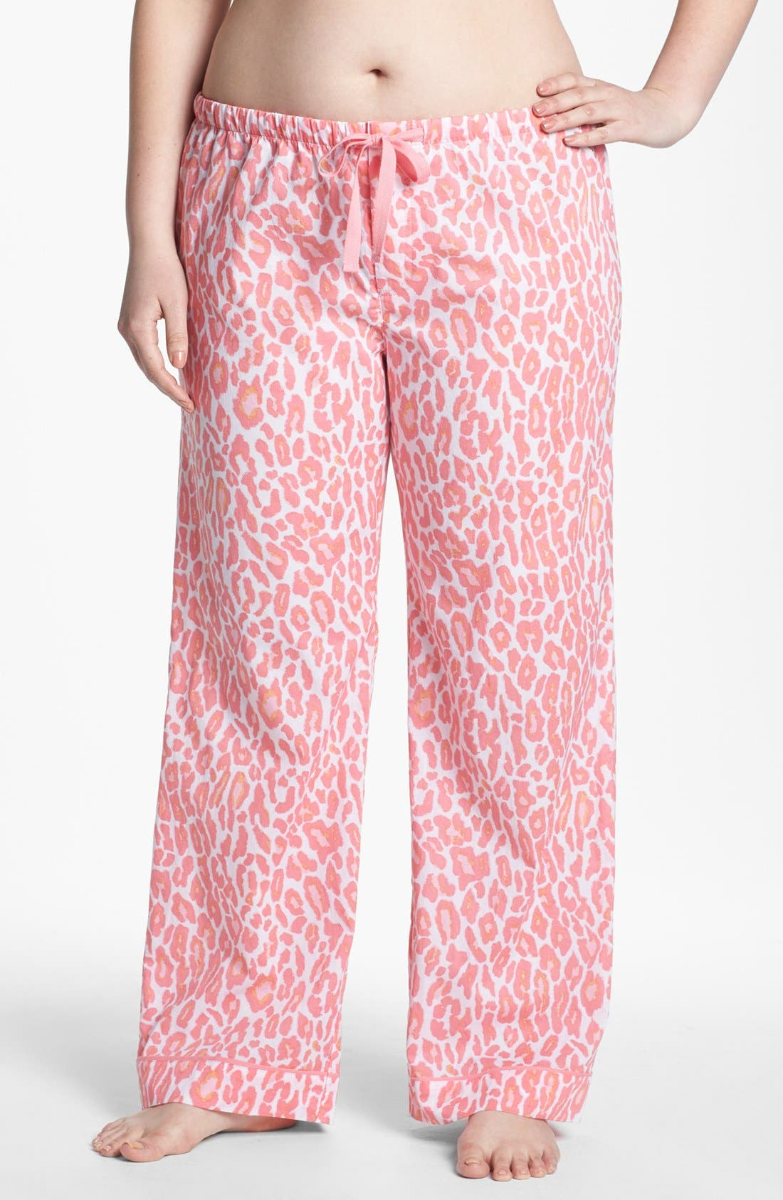 Main Image - PJ Salvage Print Lounge Pants (Plus Size) (Online Only)