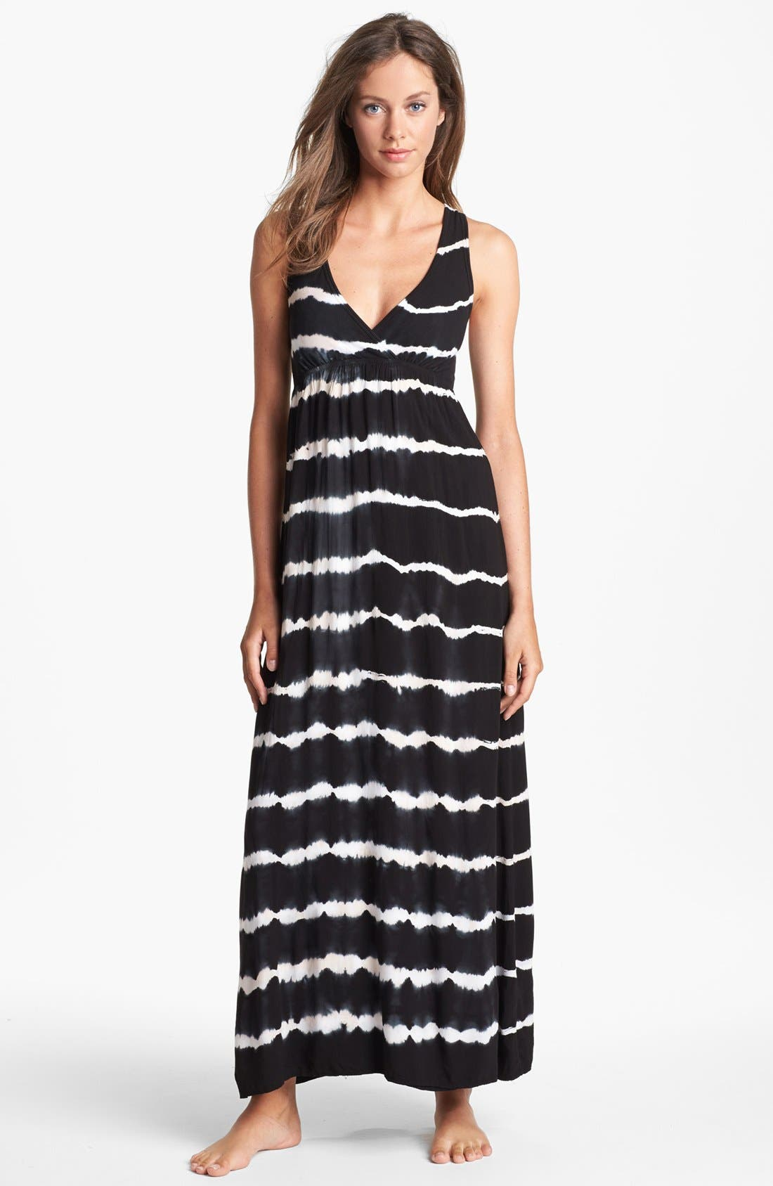 Alternate Image 1 Selected - Hard Tail Twisty Back Maxi Dress (Online Only)