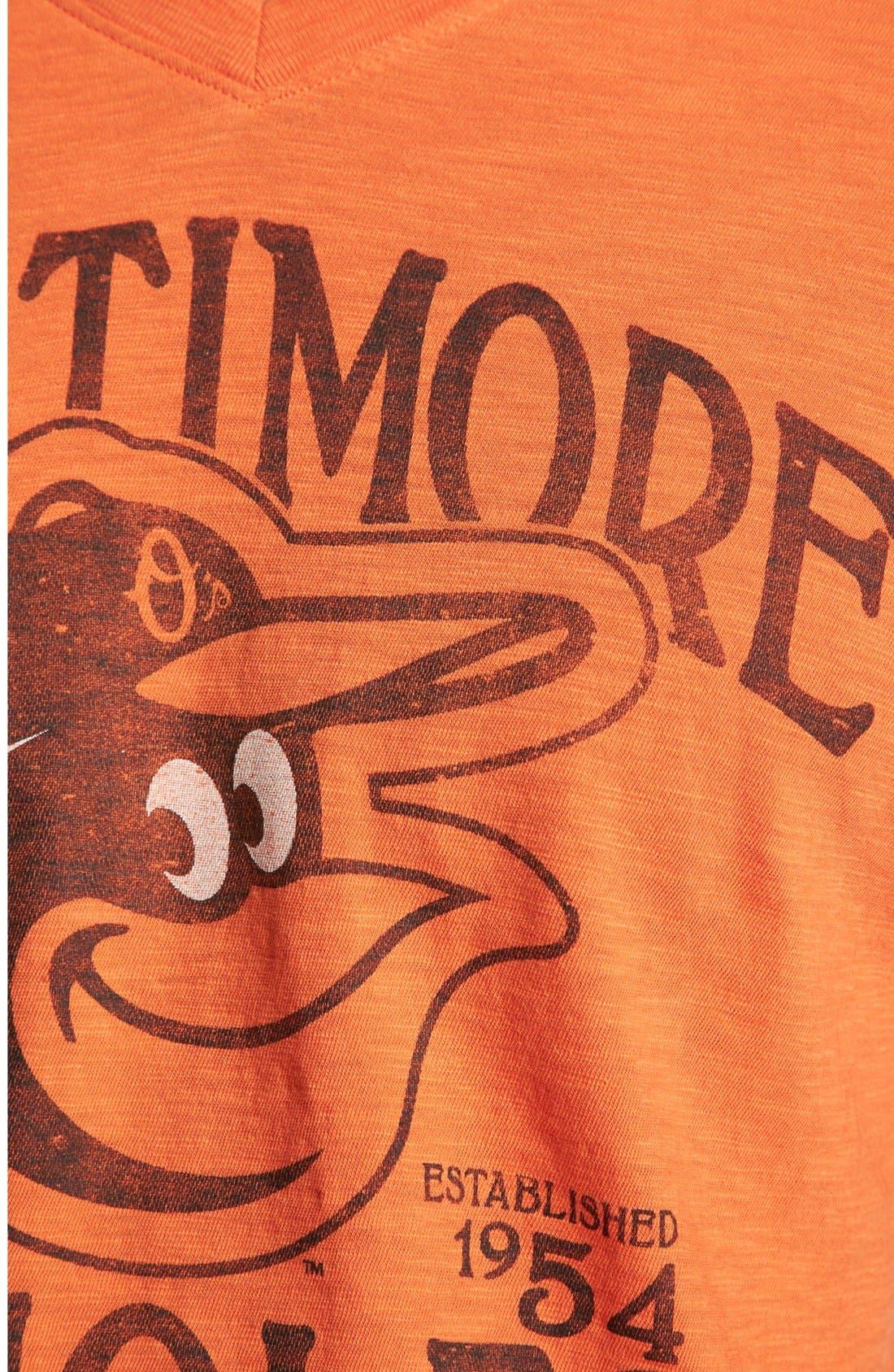 Alternate Image 3  - 47 Brand 'Baltimore Orioles - JV Scrum' T-Shirt