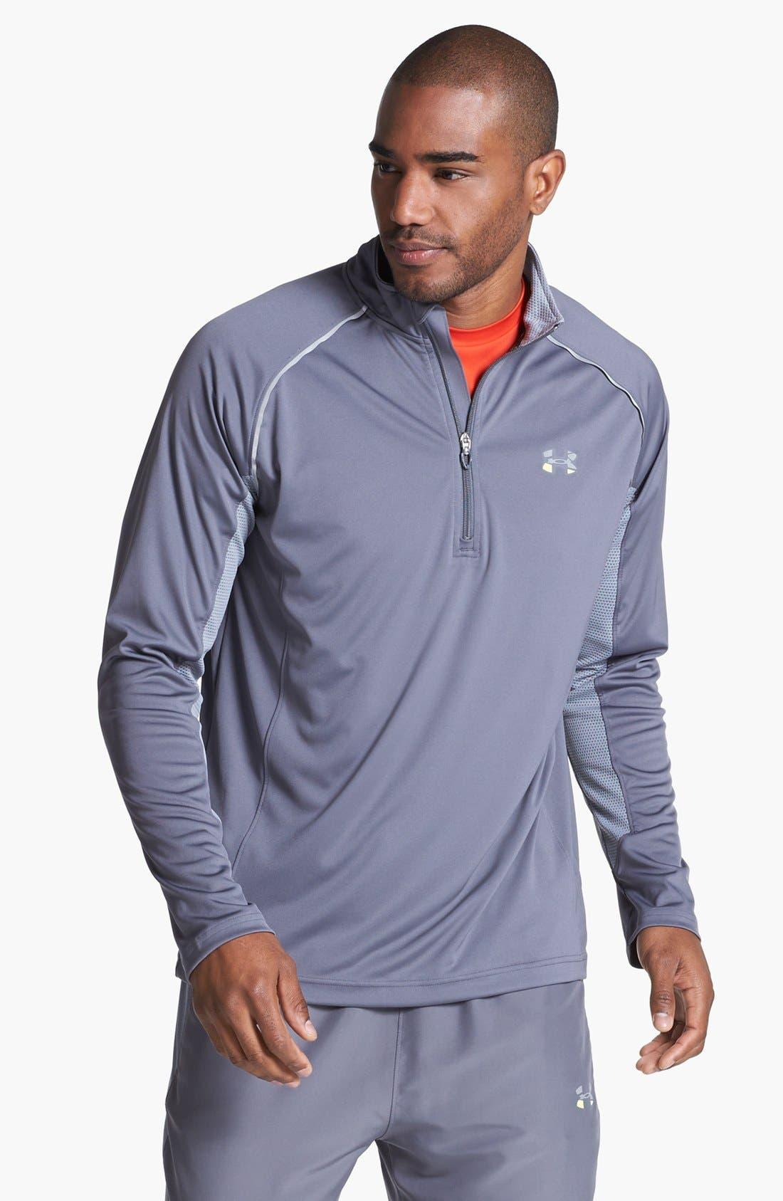 Alternate Image 1 Selected - Under Armour Quarter Zip Shirt