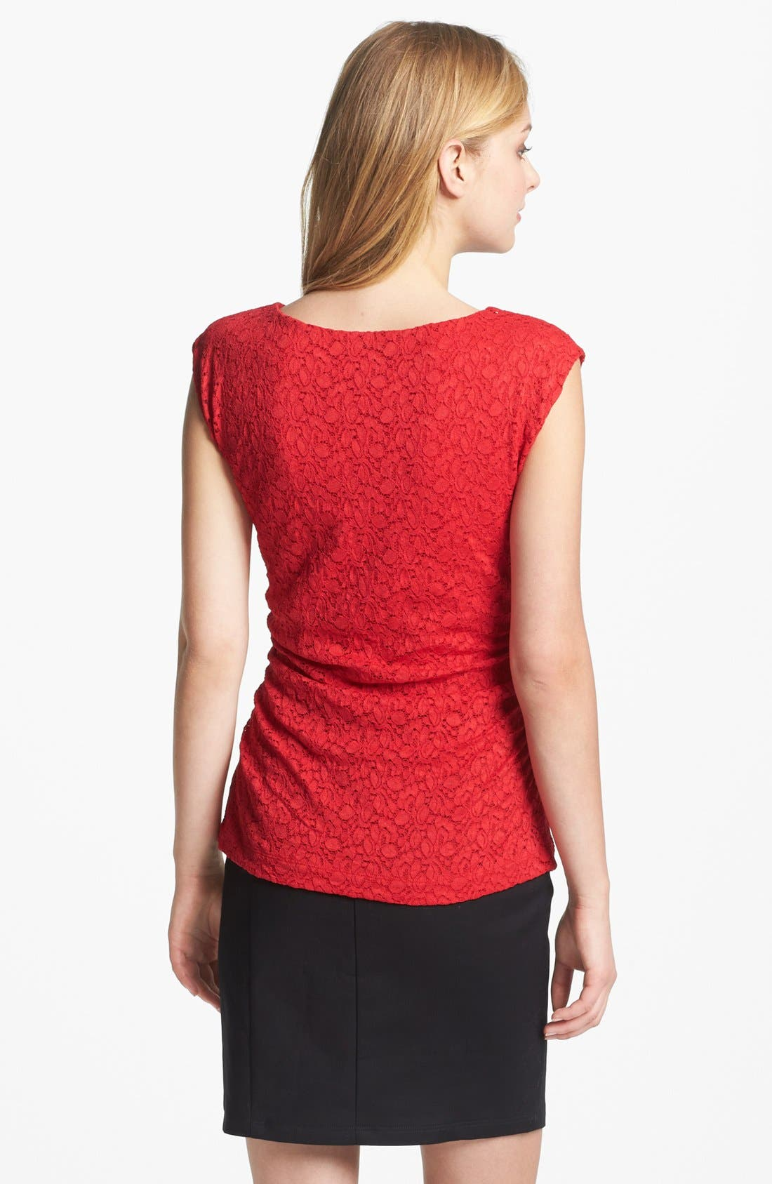 Alternate Image 2  - Vince Camuto Lace Top