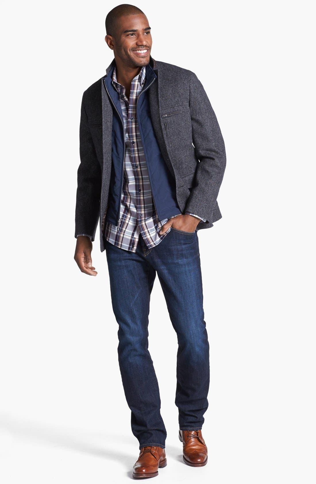 Alternate Image 5  - AG Graduate Slim Straight Leg Jeans (Robinson)