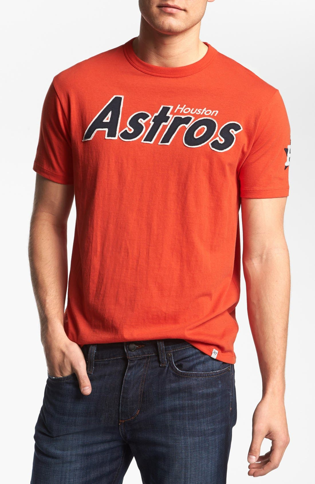 Alternate Image 1 Selected - 47 Brand 'Houston Astros - Fieldhouse' T-Shirt