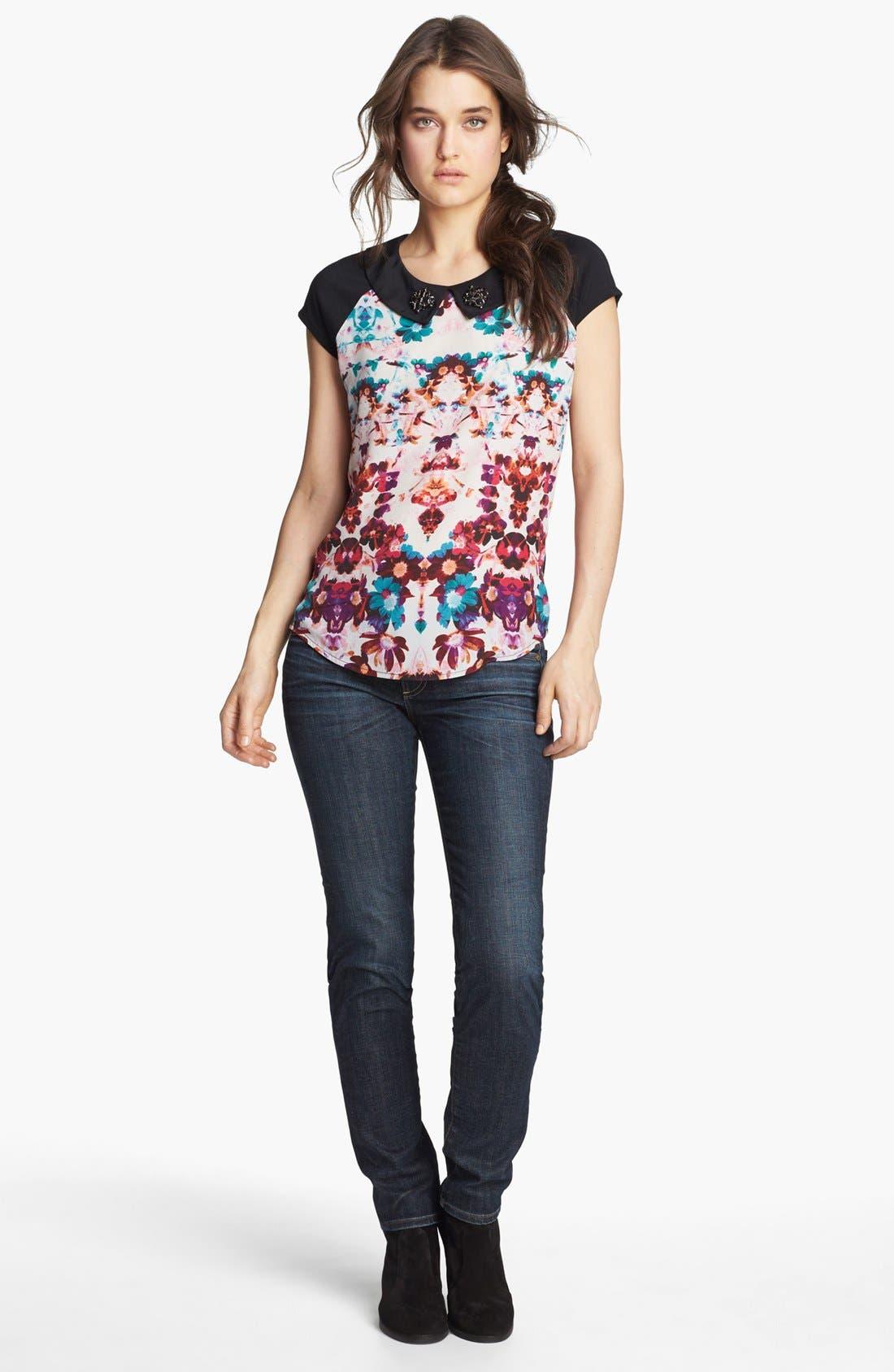 Alternate Image 4  - Hinge® Embellished Collar Top