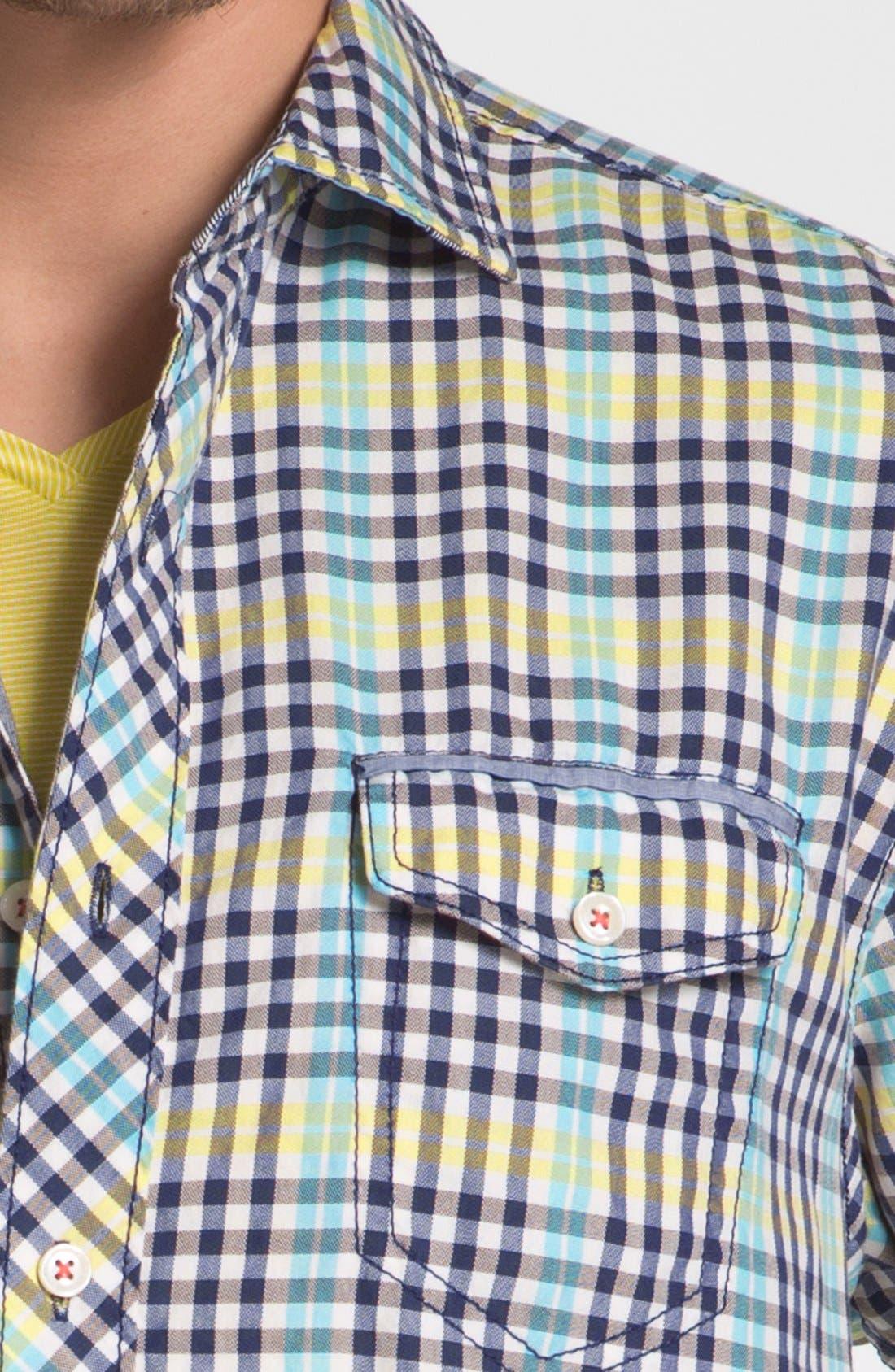Alternate Image 3  - Tommy Bahama Denim 'Ole Oxford' Regular Fit Sport Shirt