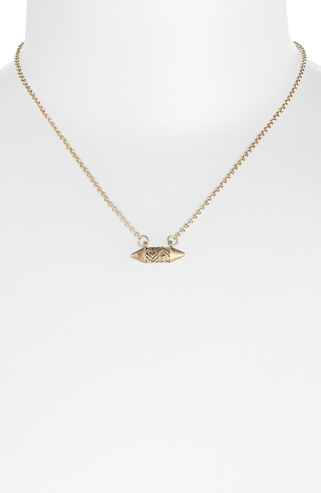 Main Image - Topshop 'Ditsy' Necklace