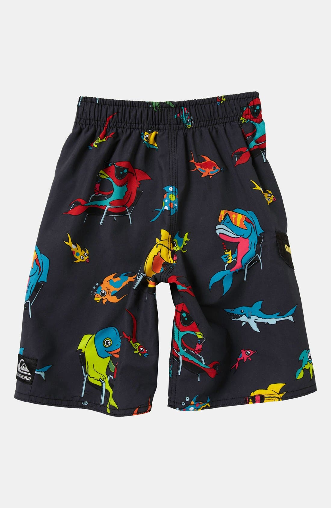 Alternate Image 2  - Quiksilver 'Fish Tacoz' Board Shorts (Little Boys)