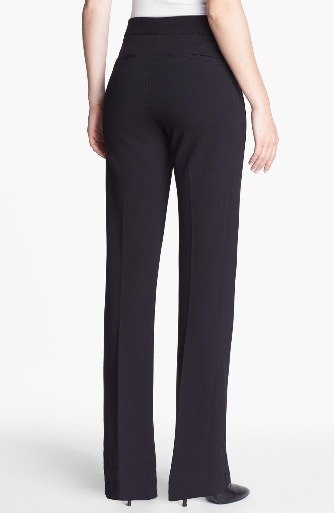 Alternate Image 3  - NYDJ Stretch Ponte Trousers (Regular & Petite)