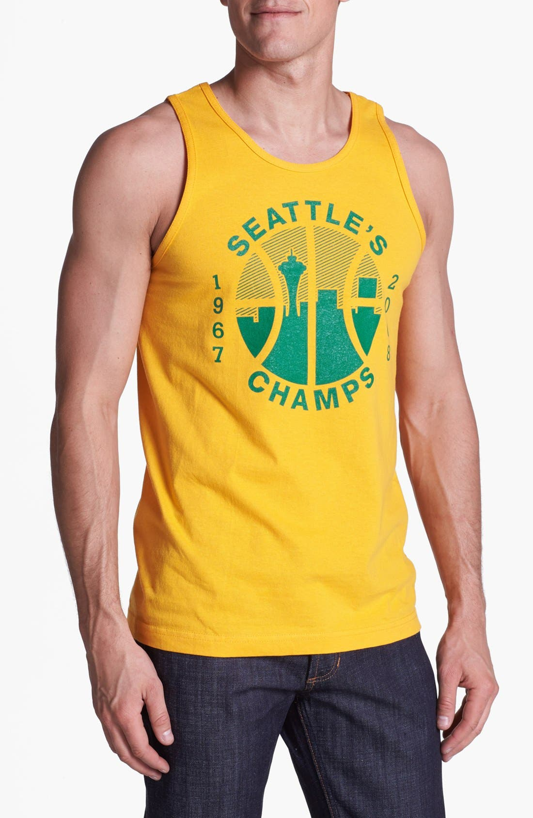 Main Image - Casual Industrees 'Seattle Champs' Tank Top
