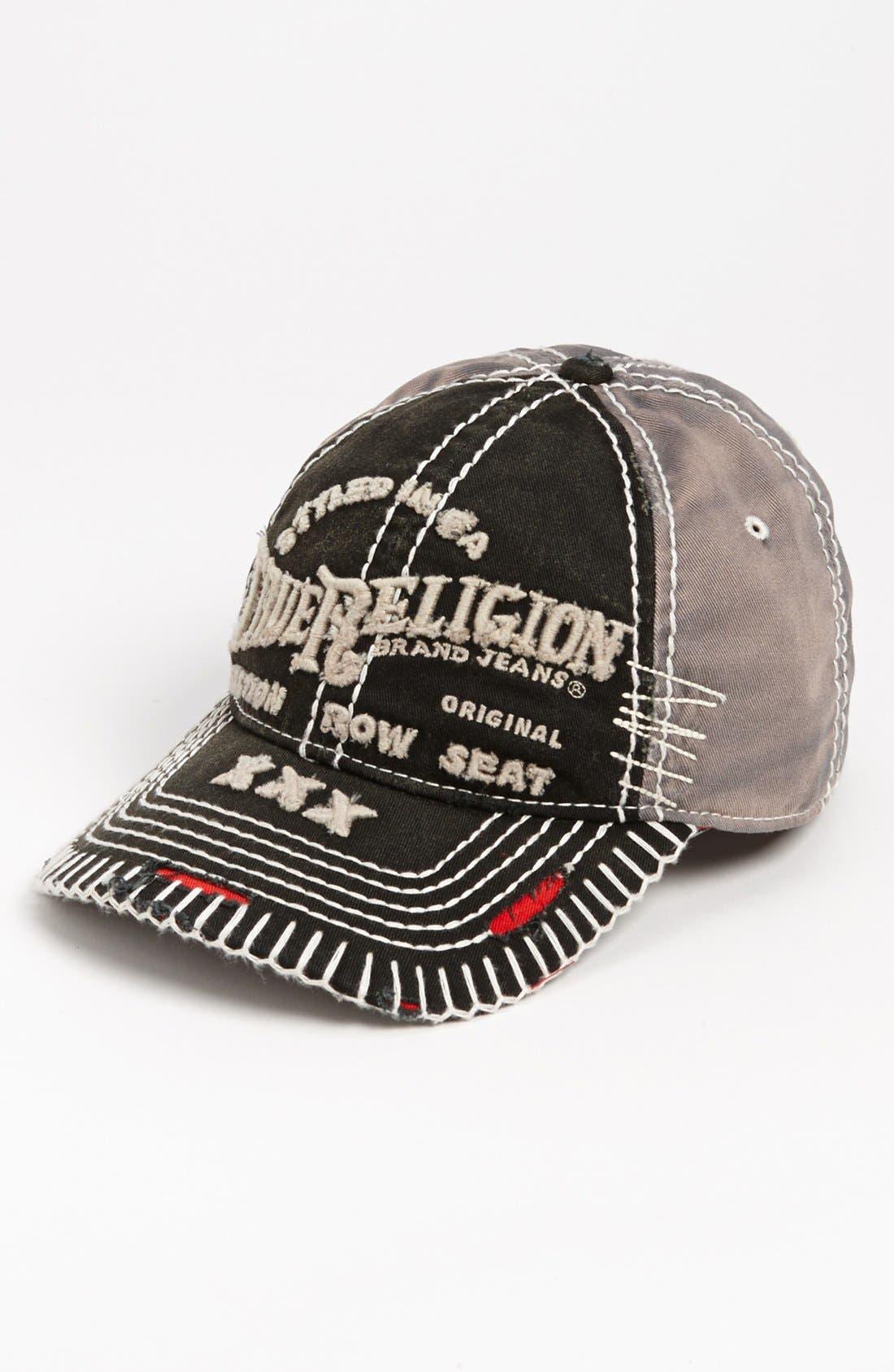 Main Image - True Religion Brand Jeans 'Triple X' Baseball Cap