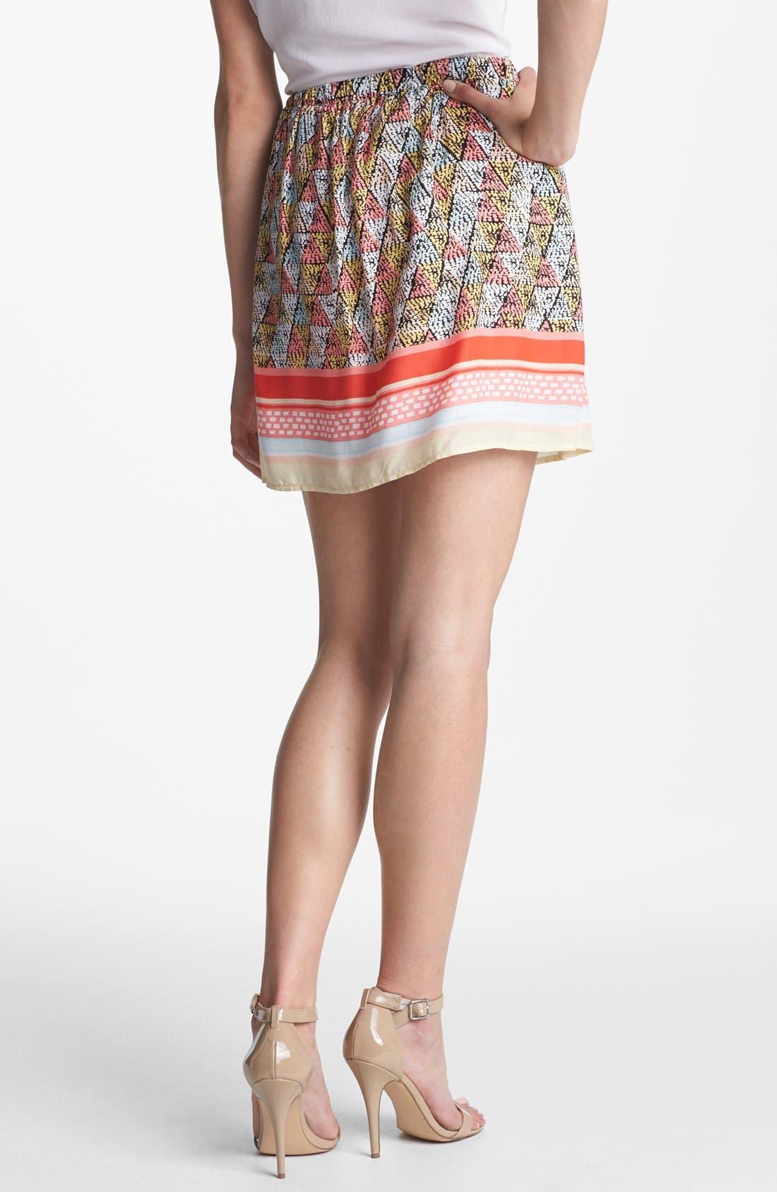 Alternate Image 2  - Ella Moss 'Border' Print Skirt