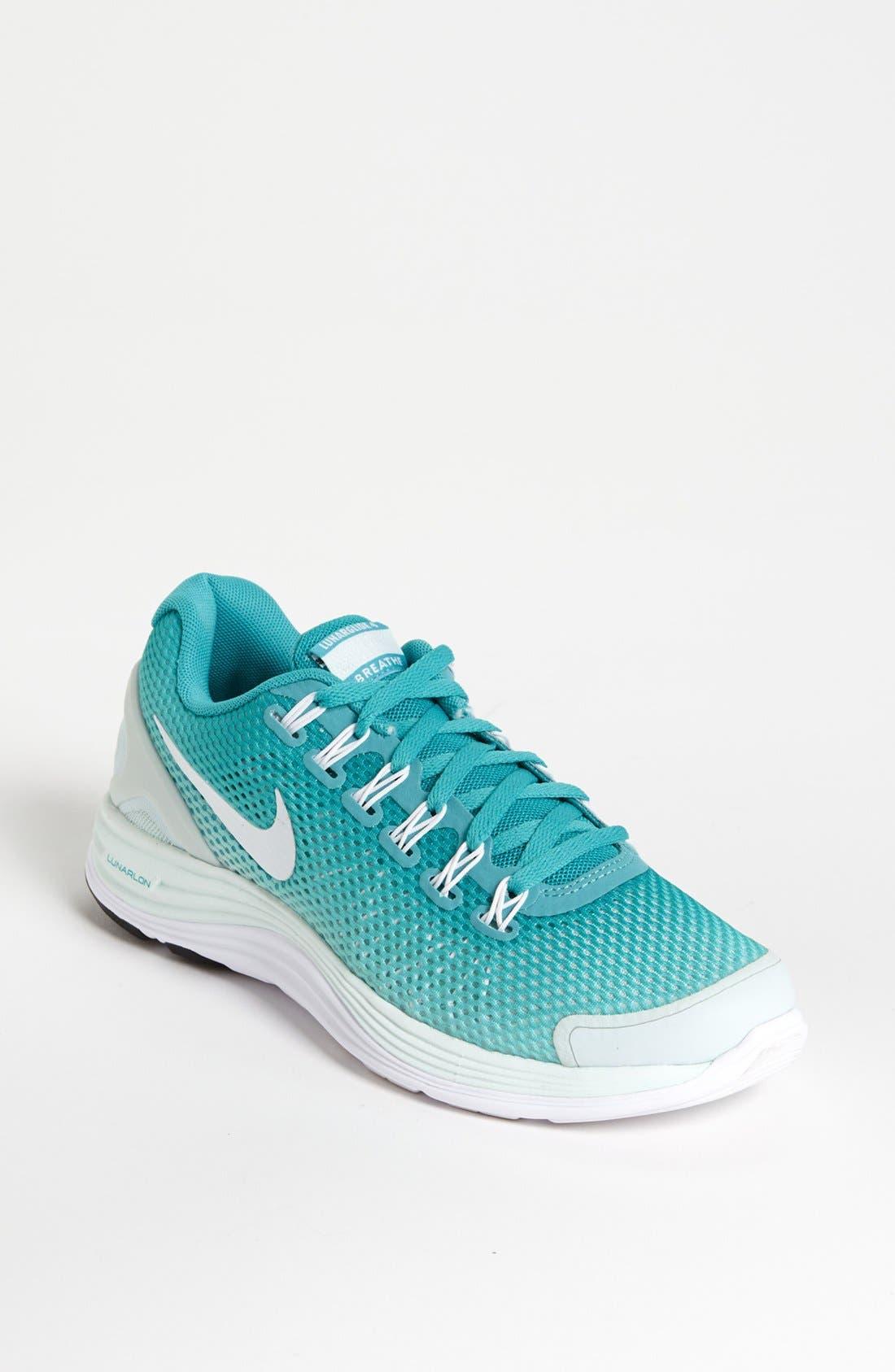 Alternate Image 1 Selected - Nike 'LunarGlide 4 Breathe' Running Shoe (Women)