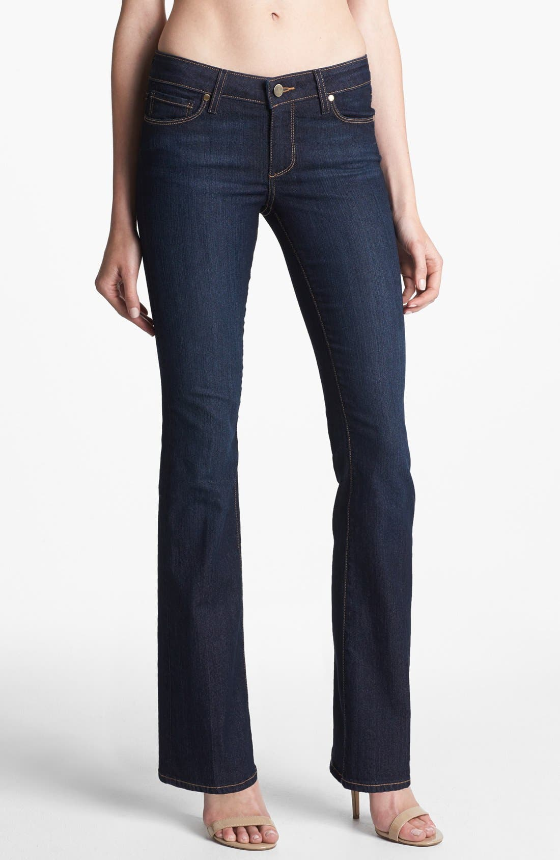Alternate Image 1 Selected - Paige Denim 'Skyline' Bootcut Stretch Jeans (Carson) (Petite)