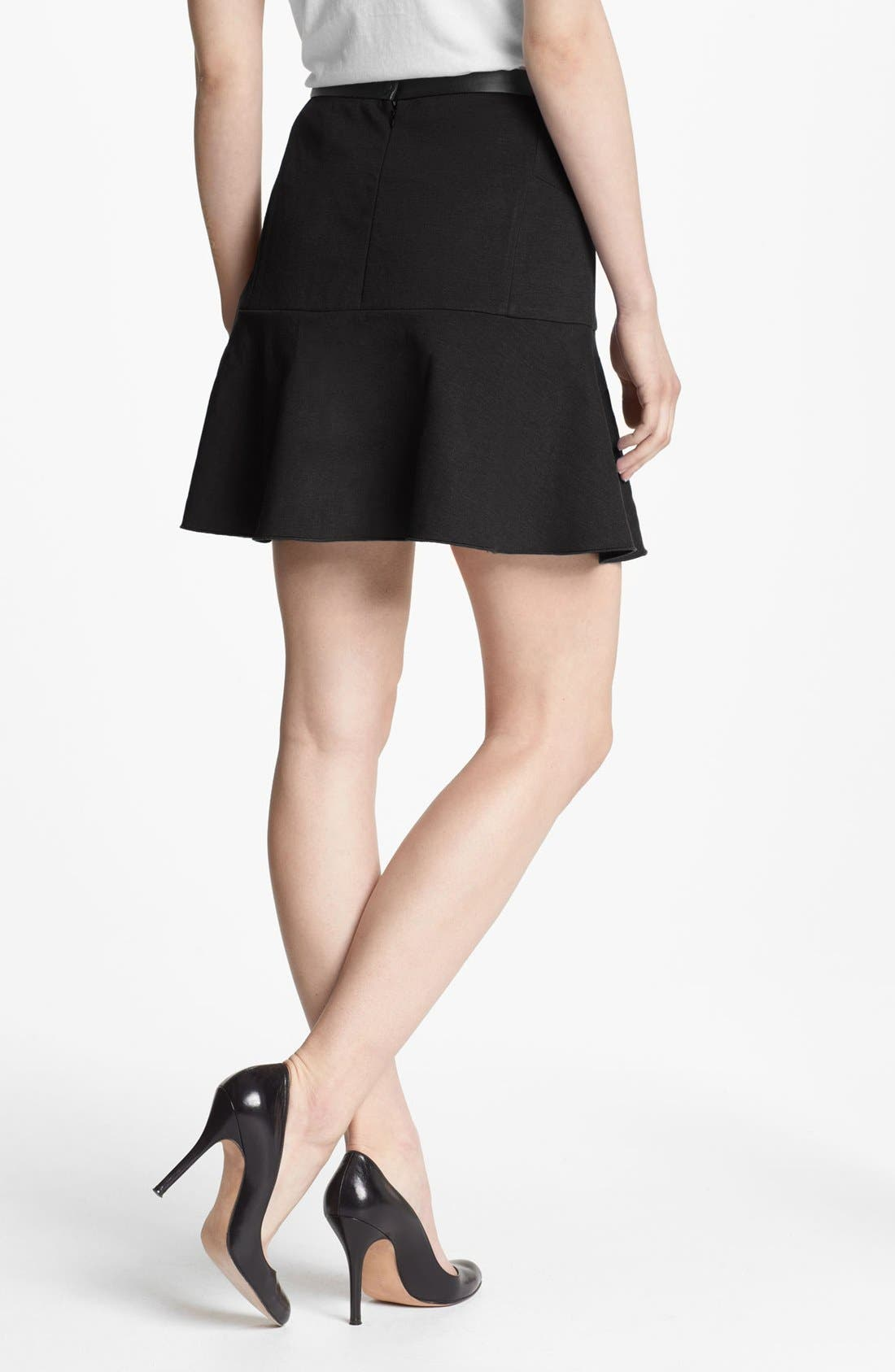 Alternate Image 2  - Robbi & Nikki Asymmetrical Ruffle Skirt