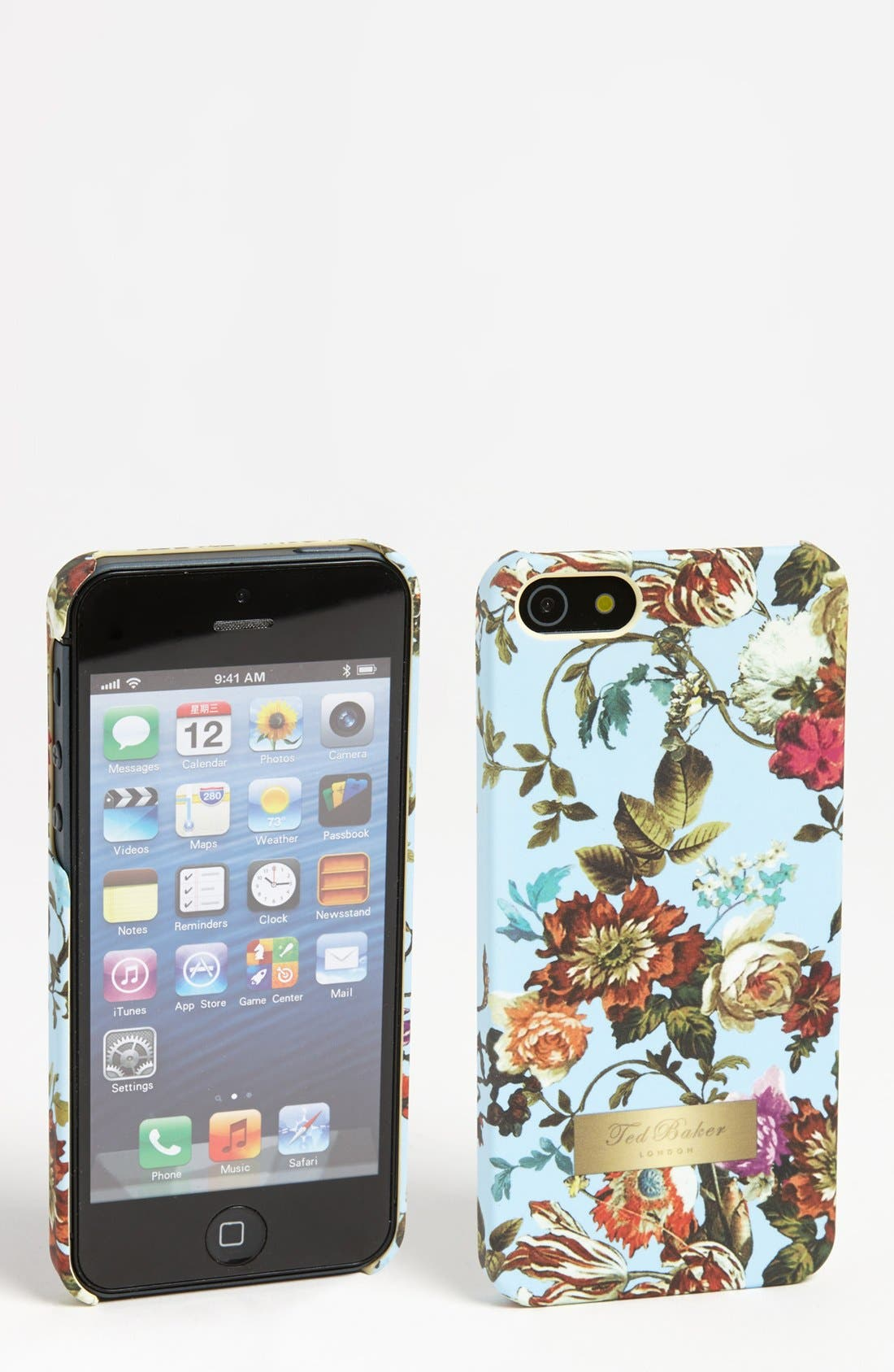 Alternate Image 1 Selected - Ted Baker London 'Mid Summer Bloom' iPhone 5 Case