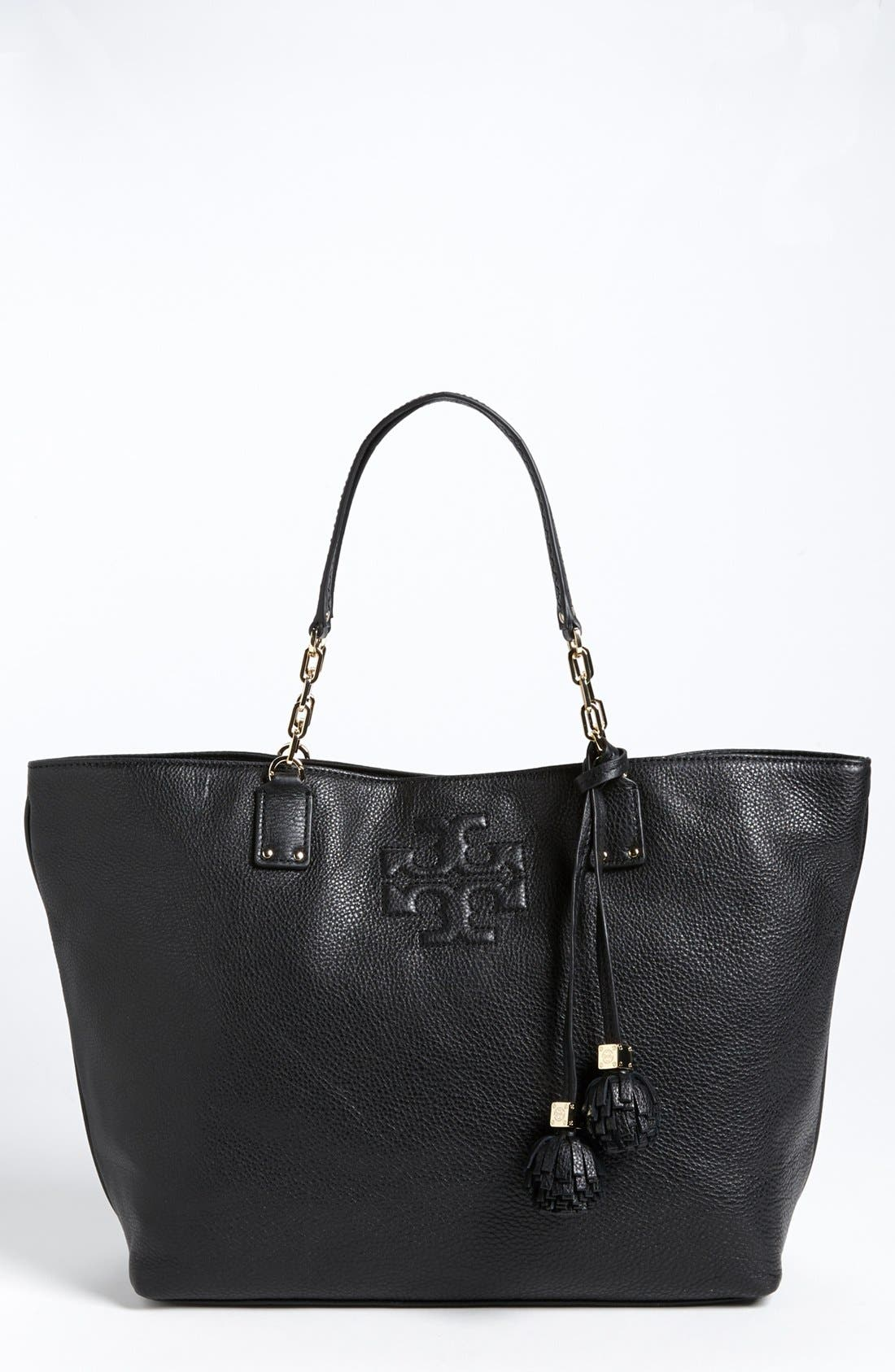 Main Image - Tory Burch 'Thea - Large' Leather Tote
