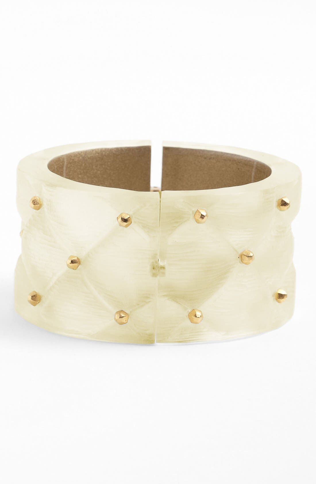 Alternate Image 1 Selected - Alexis Bittar 'Lucite®' Large Quilted Bracelet