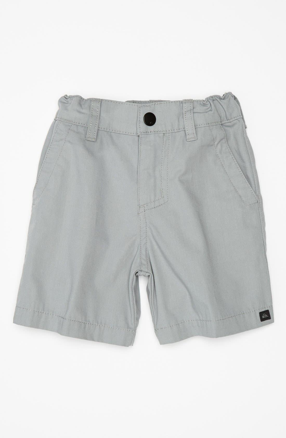 Alternate Image 1 Selected - Quiksilver 'Rockefeller' Shorts (Baby Boys)