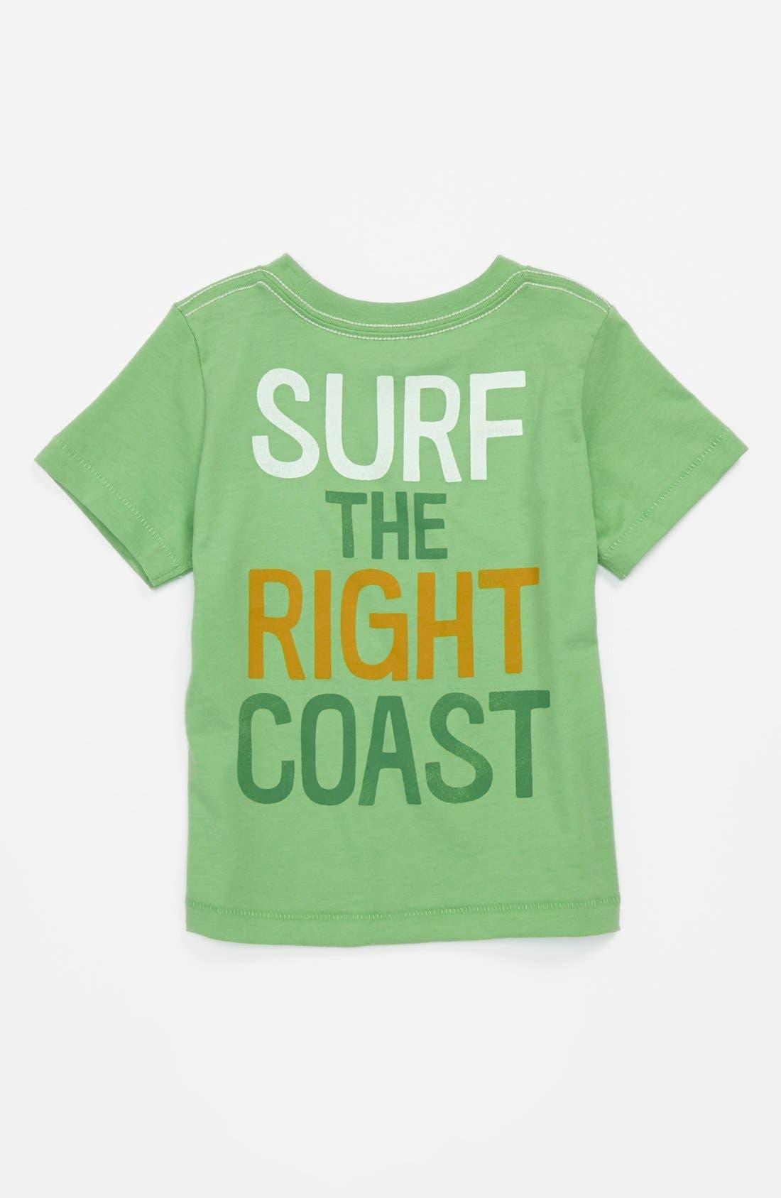 Alternate Image 2  - Peek 'Turtle Point' T-Shirt (Baby Boys)