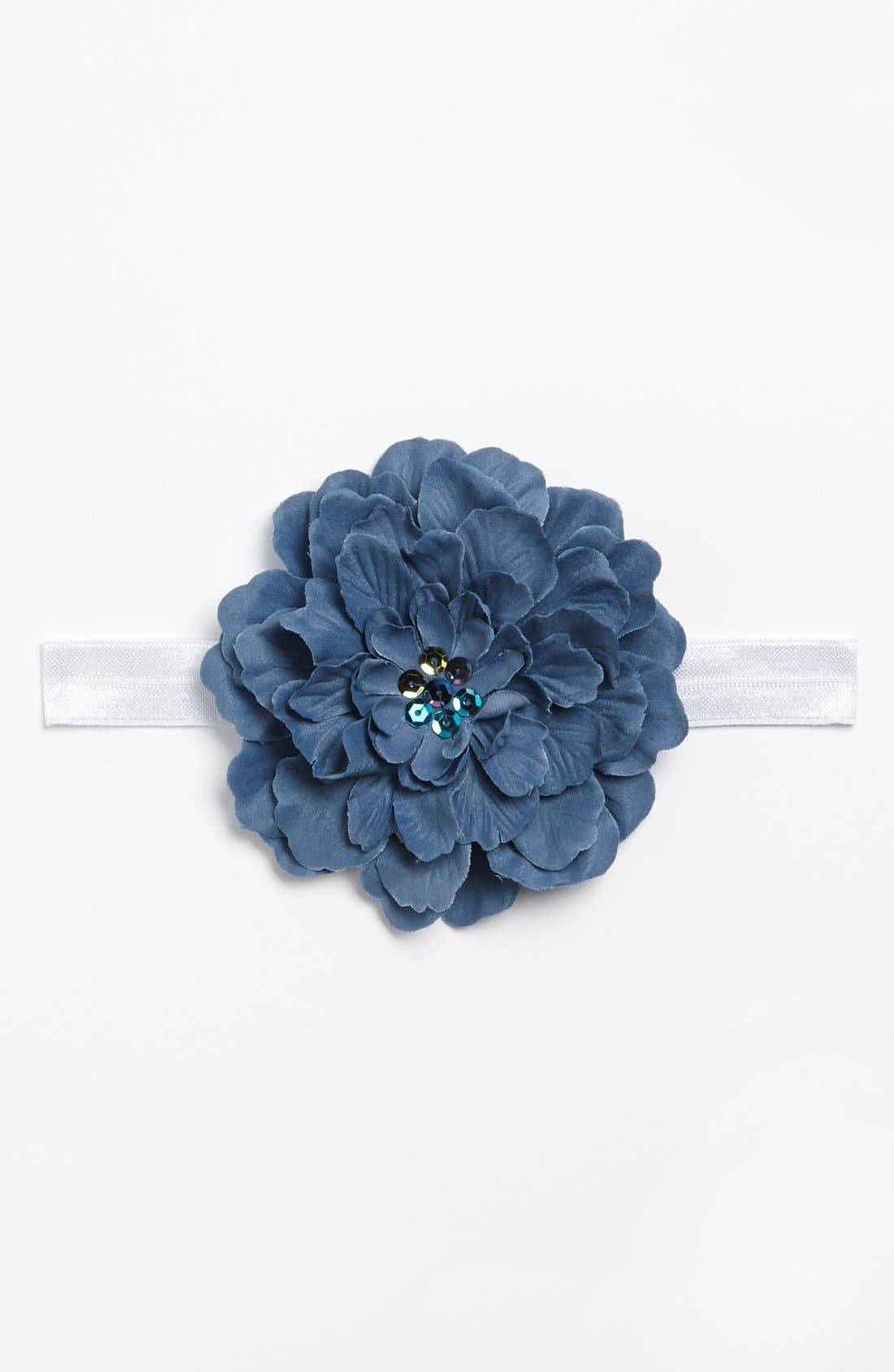Alternate Image 2  - PLH Bows & Laces Flower Headband (Baby Girls & Toddler Girls)