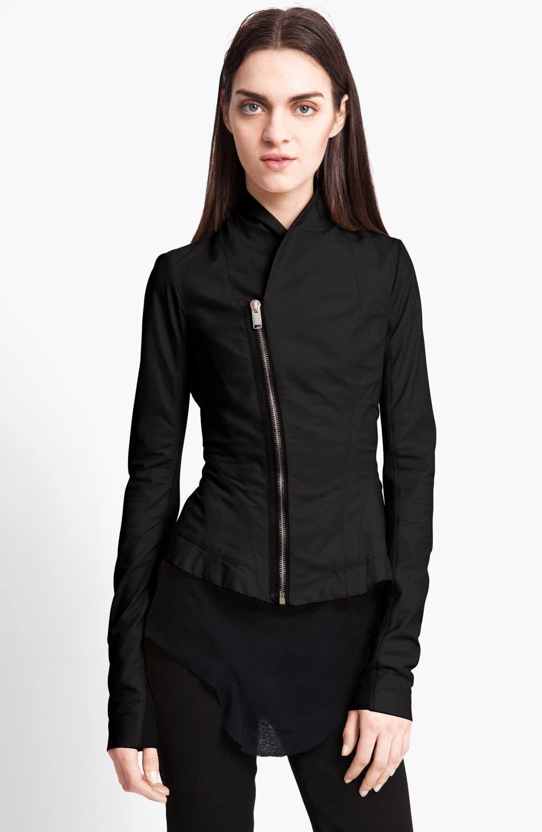 Alternate Image 1 Selected - Rick Owens Calfskin Leather Jacket