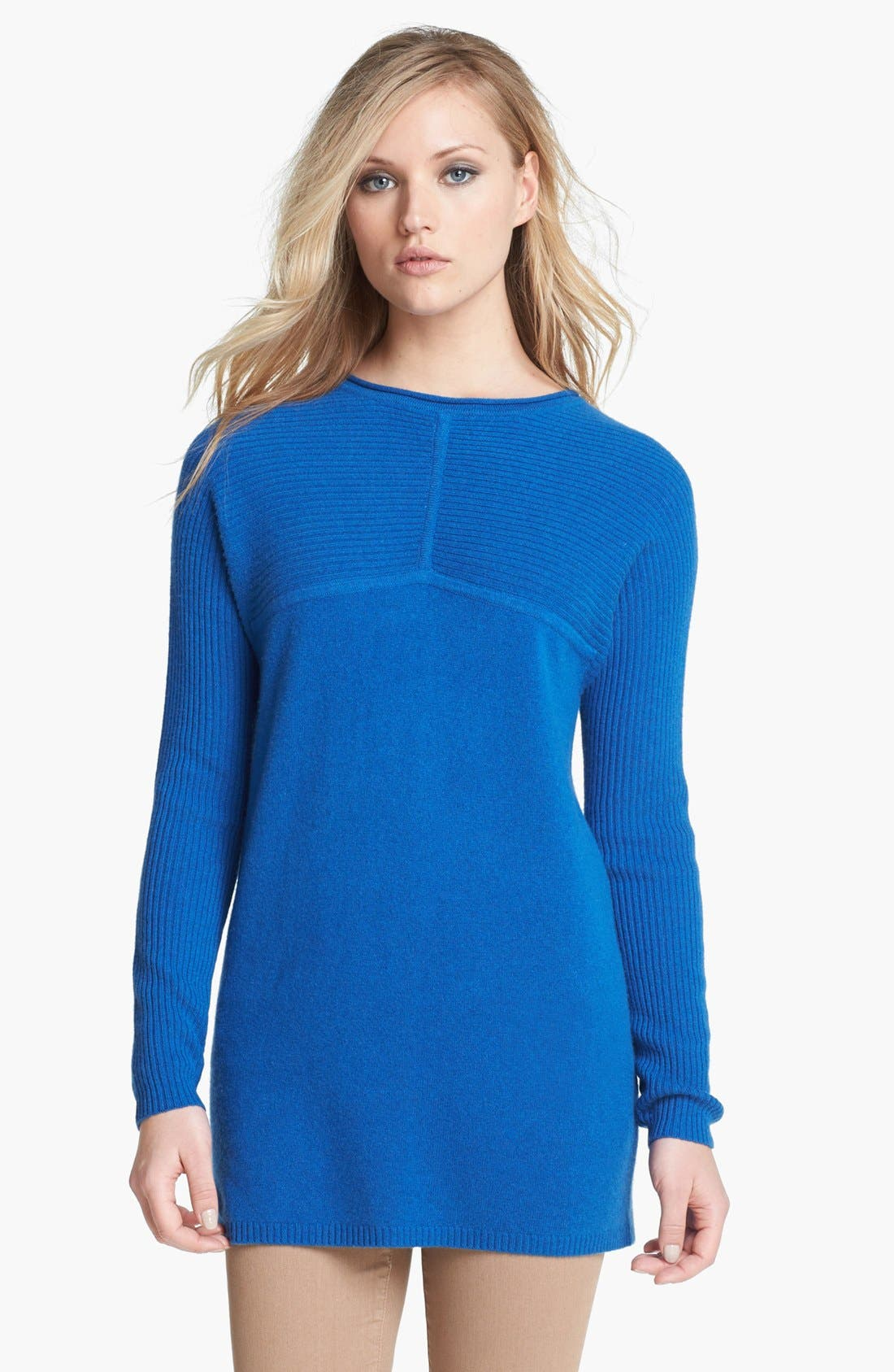 Alternate Image 1 Selected - Tory Burch 'Deanna' Cashmere Sweater