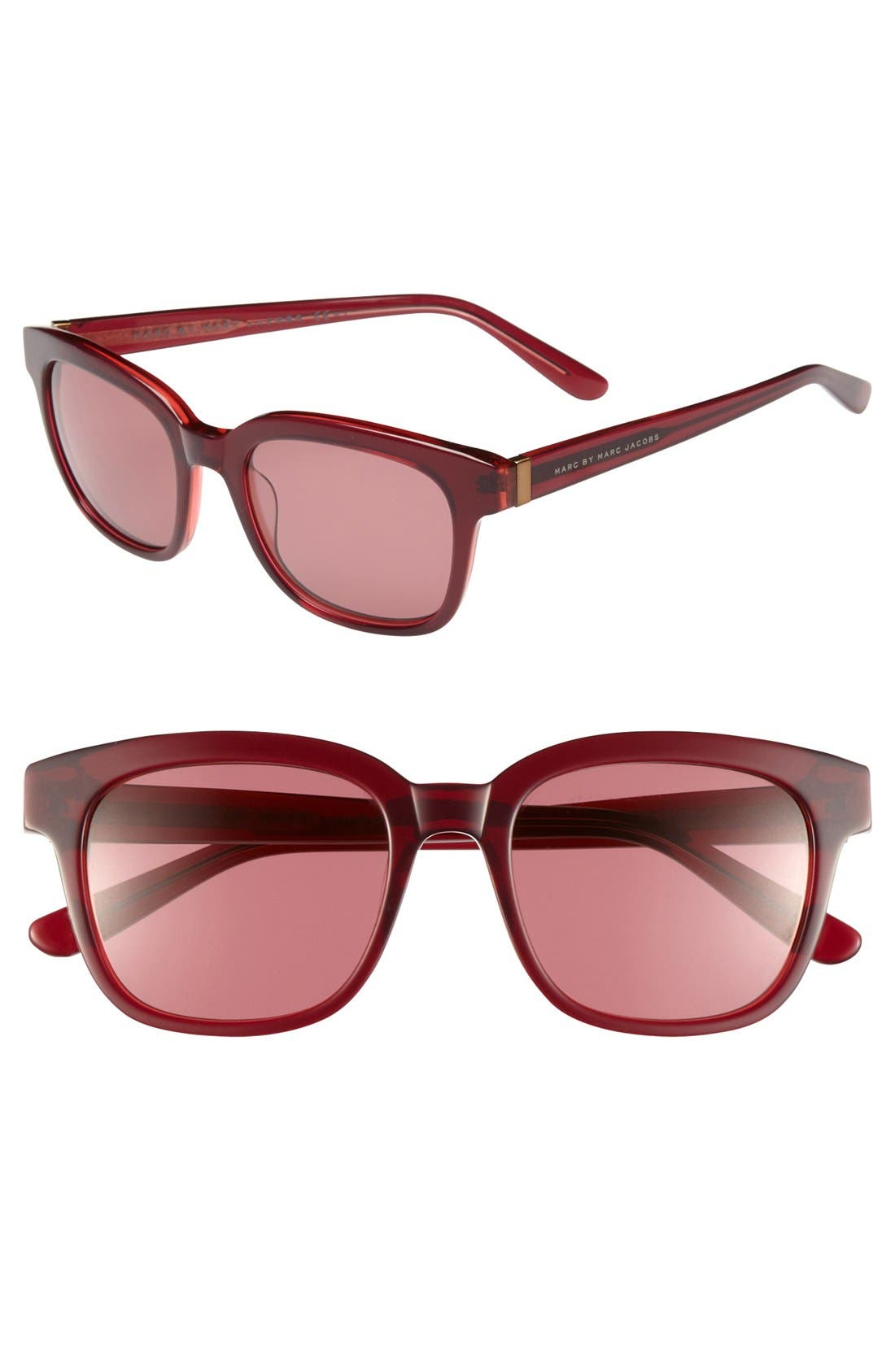 Alternate Image 1 Selected - MARC BY MARC JACOBS 51mm Retro Sunglasses
