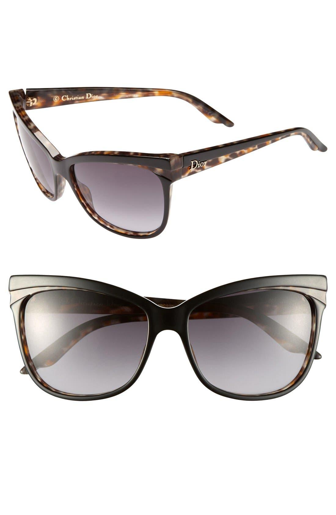 Main Image - Dior 'Sauvage 2' 58mm Retro Sunglasses