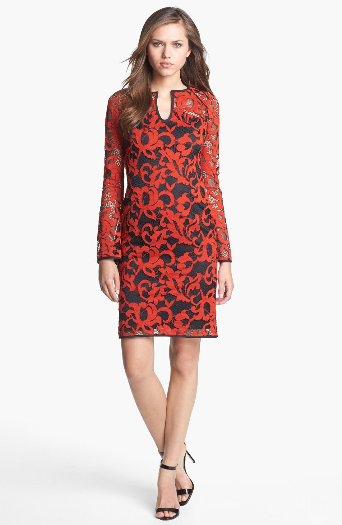 Alternate Image 1 Selected - Diane von Furstenberg 'Gadie' Lace Shift Dress