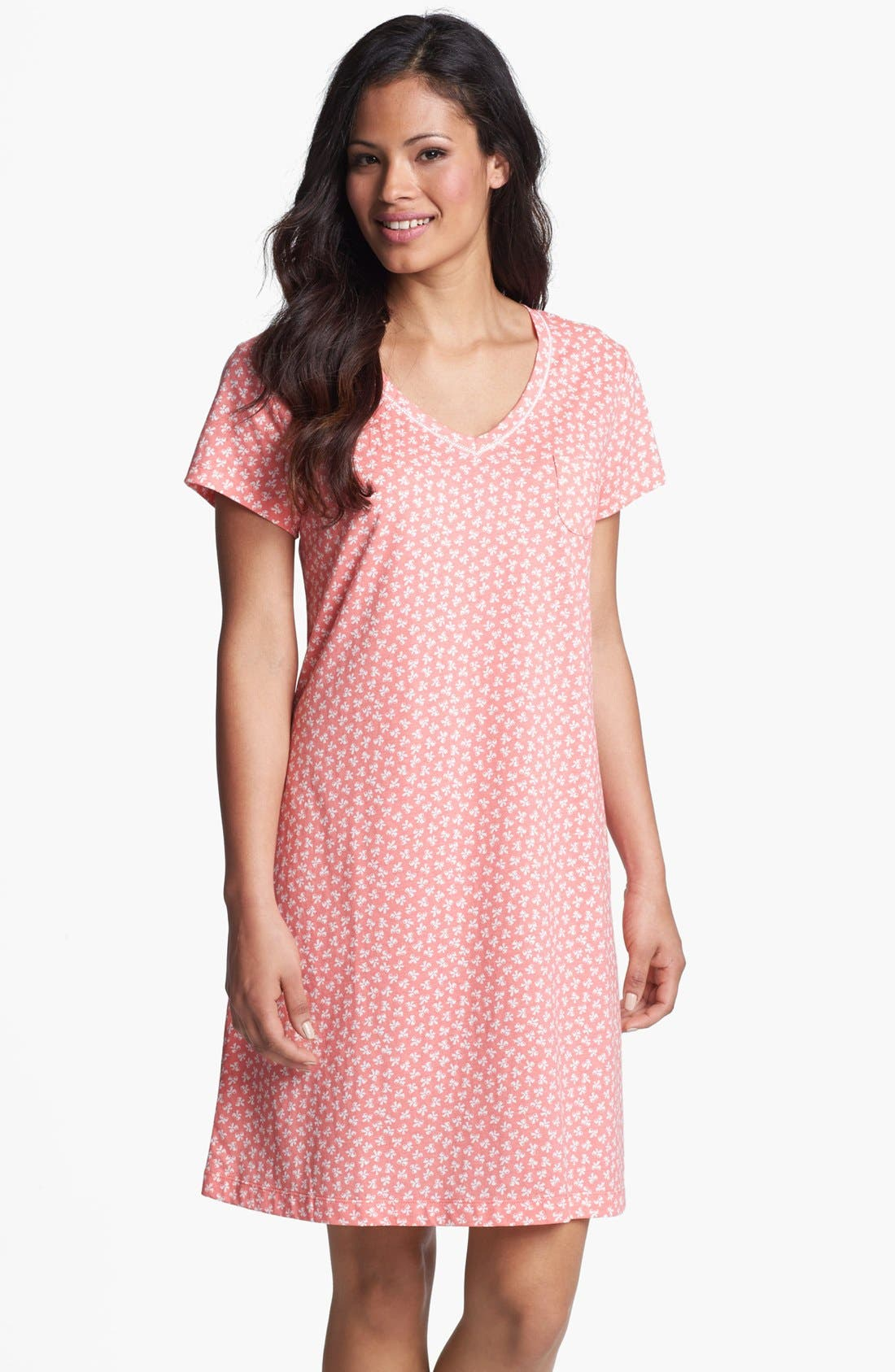 Main Image - Carole Hochman Cotton Knit Sleep Shirt