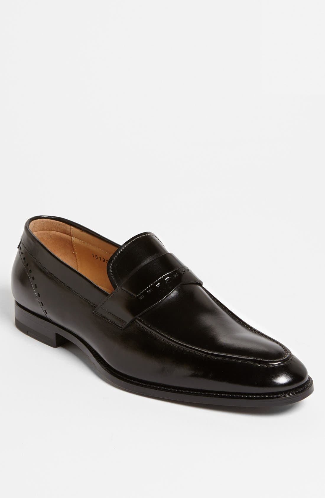 Alternate Image 1 Selected - Santoni 'Piermont' Loafer
