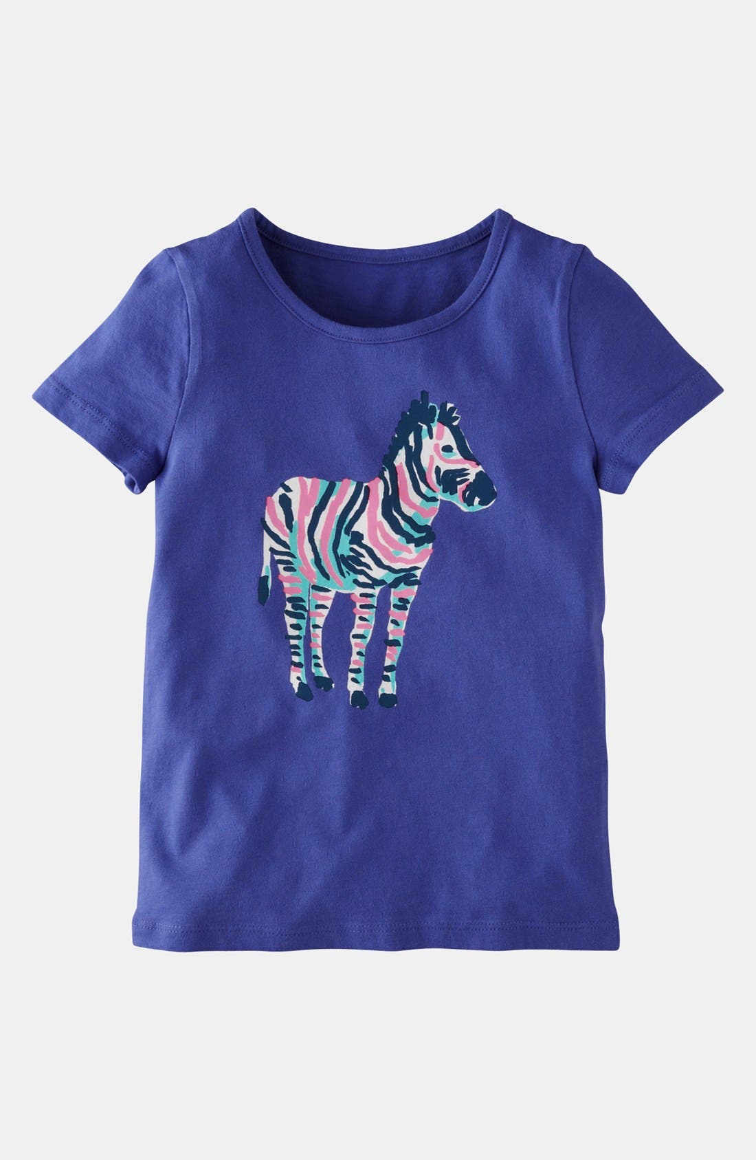 Alternate Image 1 Selected - Mini Boden 'Colorful Carnival' Tee (Little Girls & Big Girls)