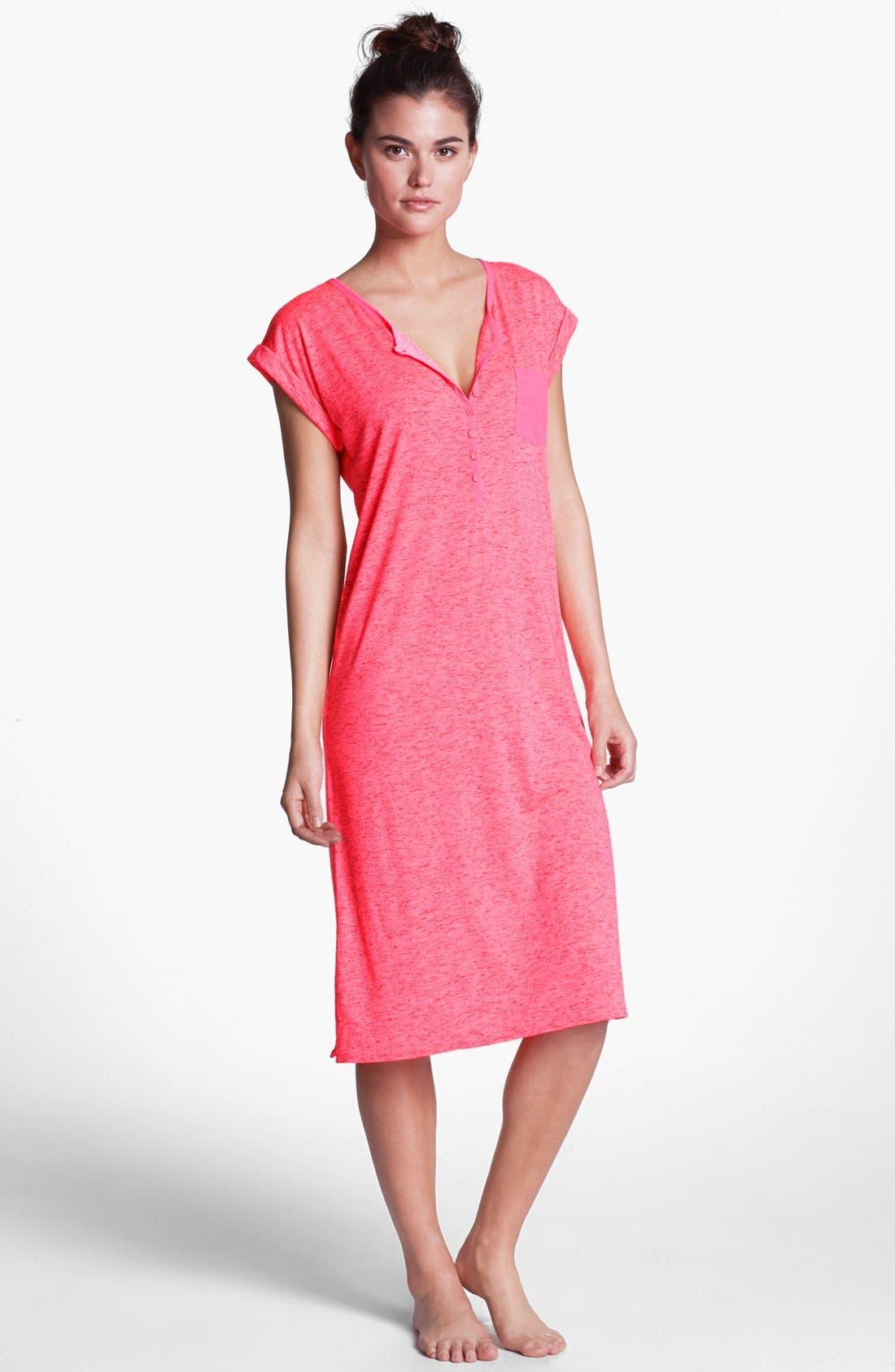 Main Image - kensie 'Neon Tide' Nightgown