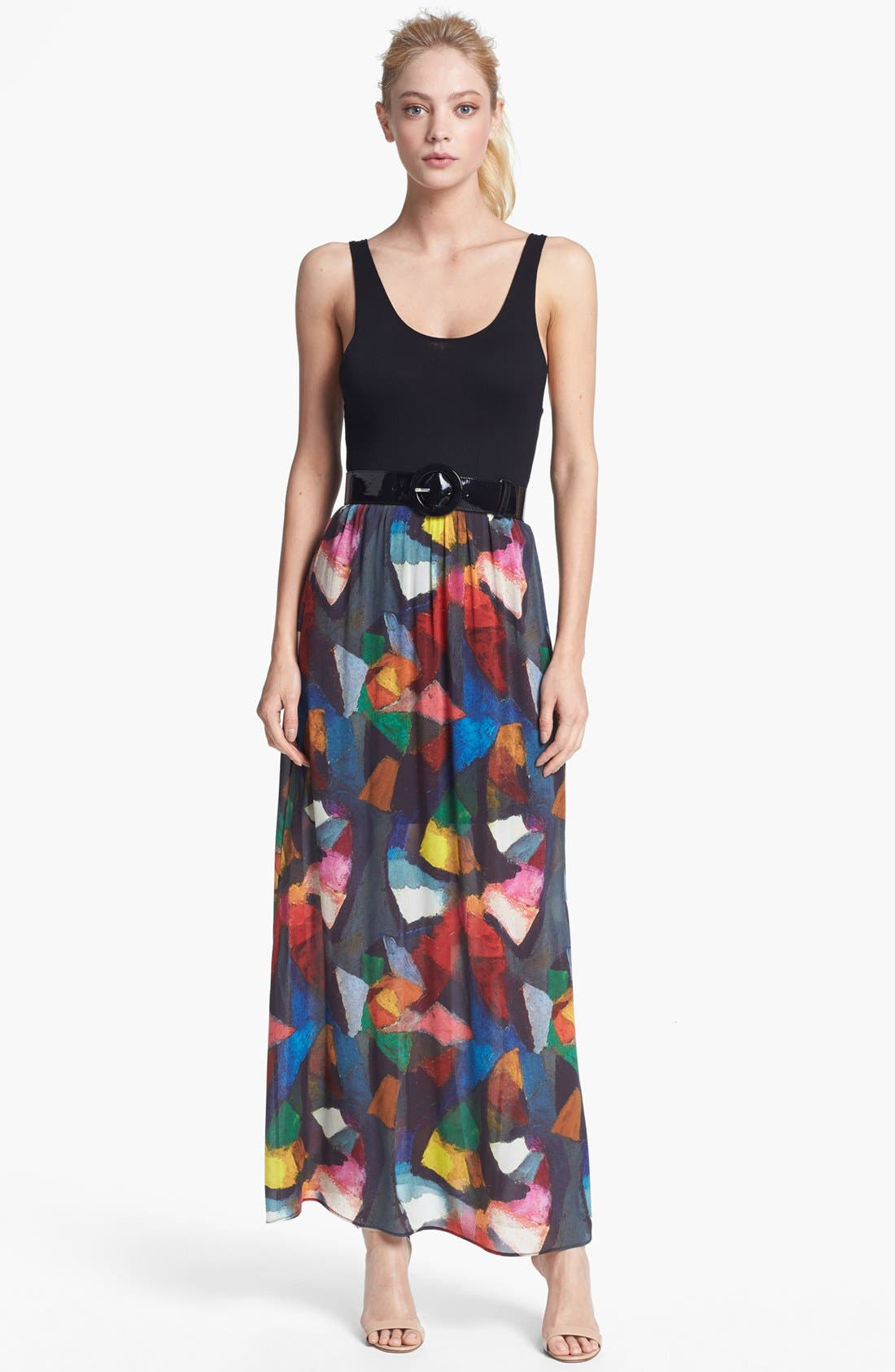 Alternate Image 1 Selected - Alice + Olivia 'Kell' Maxi Dress