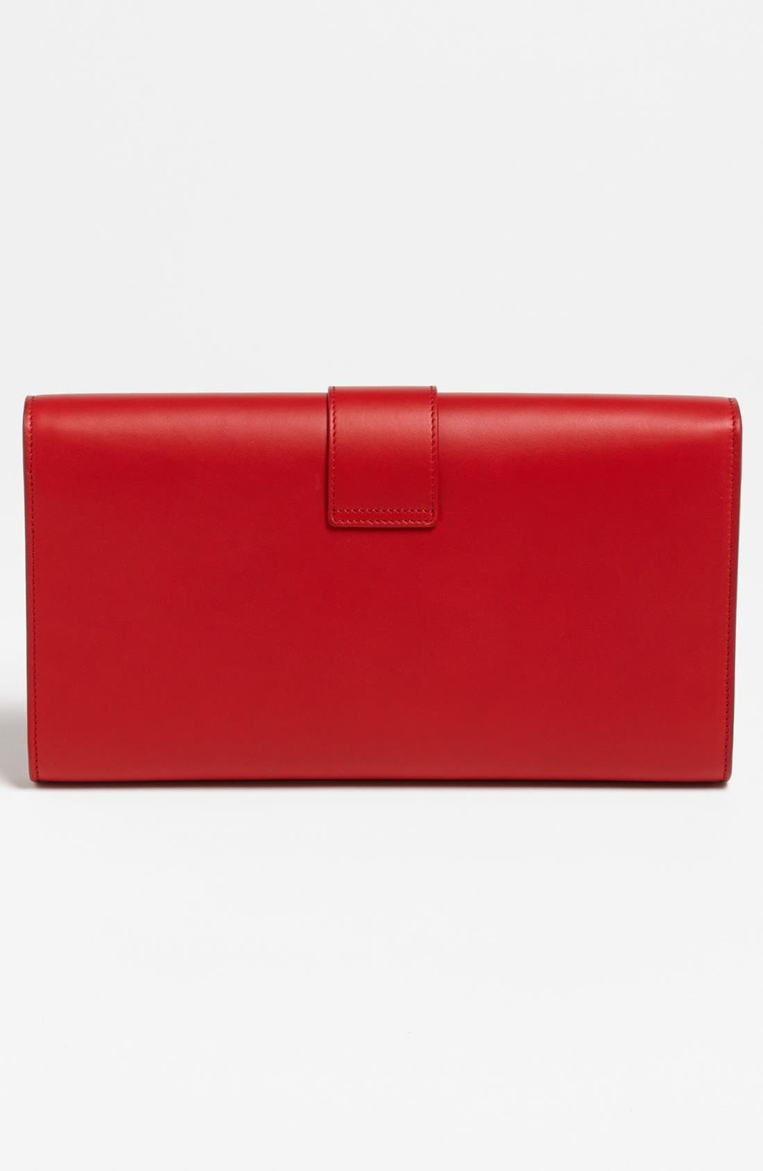Alternate Image 3  - Saint Laurent 'Y' Leather Clutch