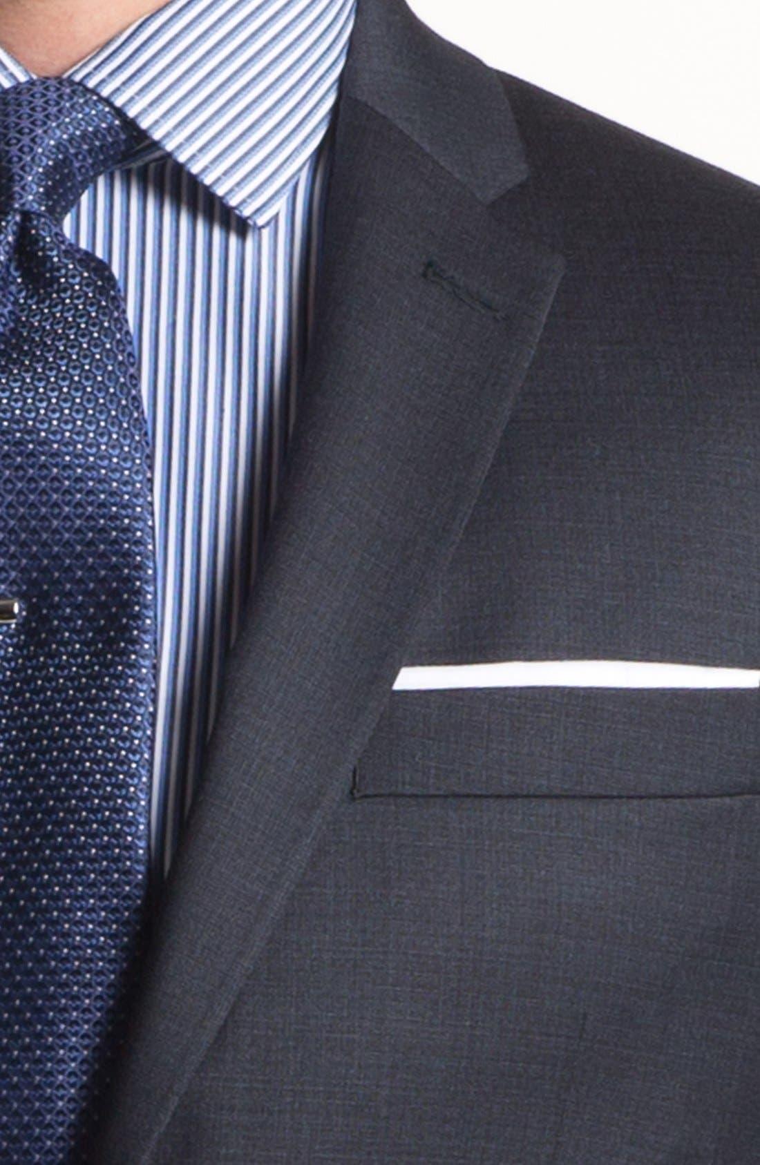 Alternate Image 2  - John Varvatos Star USA 'Townshend' Trim Fit Wool Suit