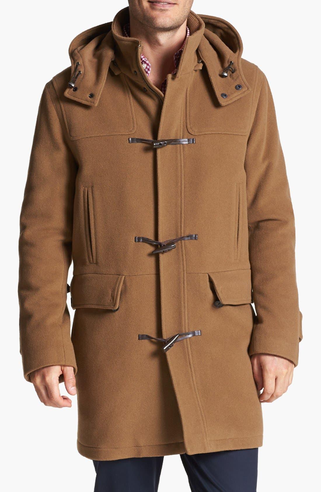 Alternate Image 1 Selected - Cole Haan Wool Blend Duffle Coat