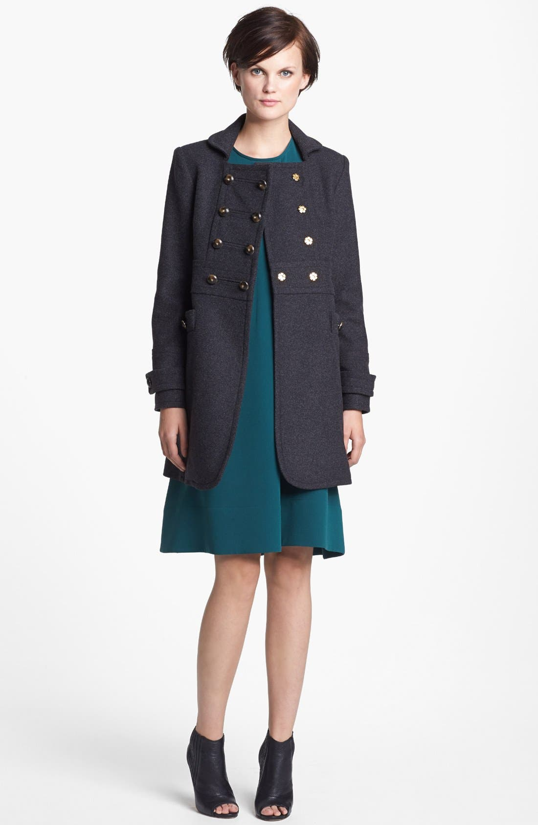 Main Image - MARC BY MARC JACOBS 'Nicoletta' Wool Blend Coat
