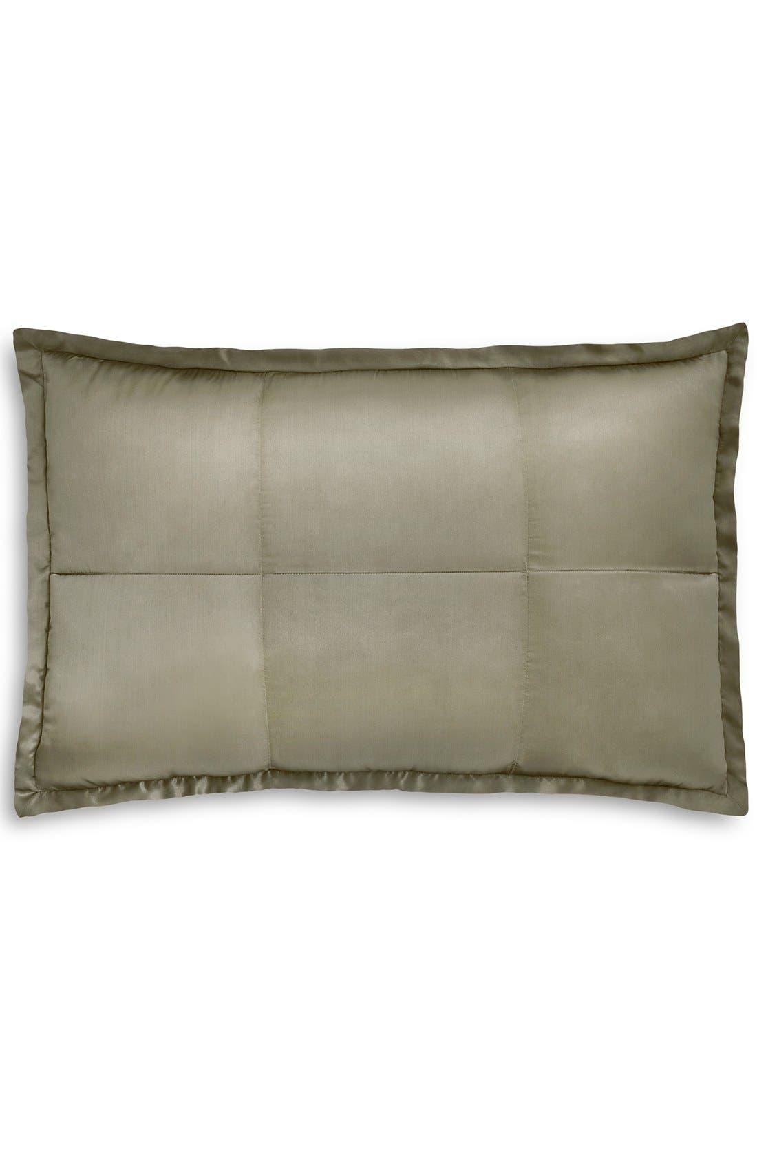 Alternate Image 1 Selected - Donna Karan 'Modern Classics' Silk & Cotton Quilted Pillow Sham (Online Only)