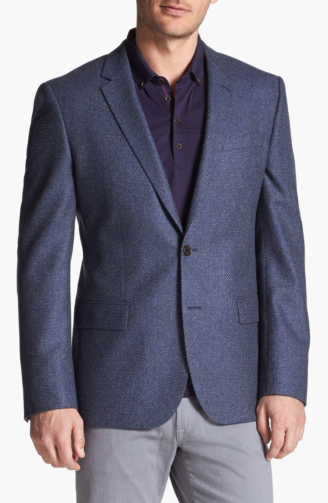 Alternate Image 1 Selected - BOSS HUGO BOSS 'Hutch' Trim Fit Sportcoat
