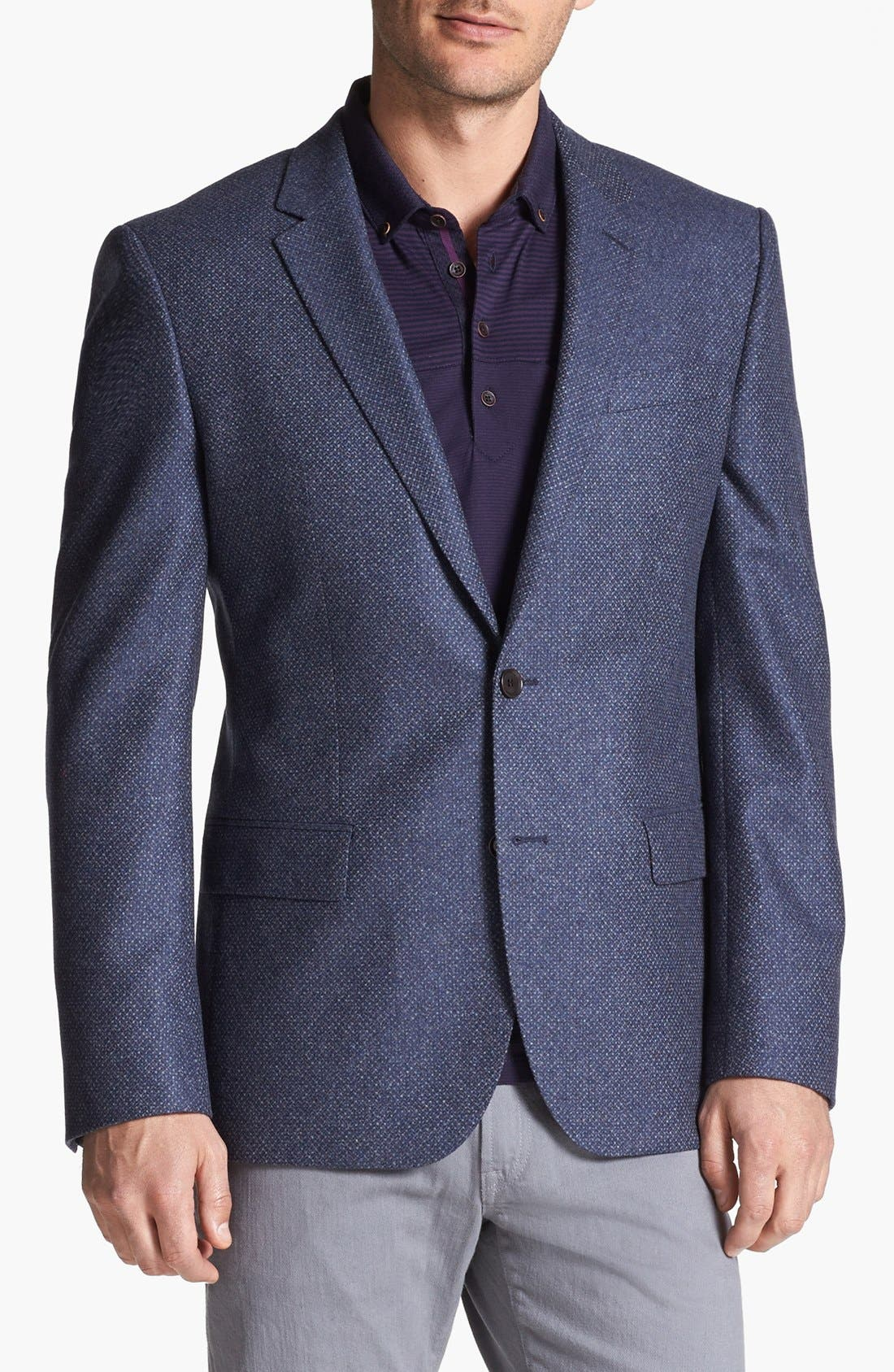 Main Image - BOSS HUGO BOSS 'Hutch' Trim Fit Sportcoat
