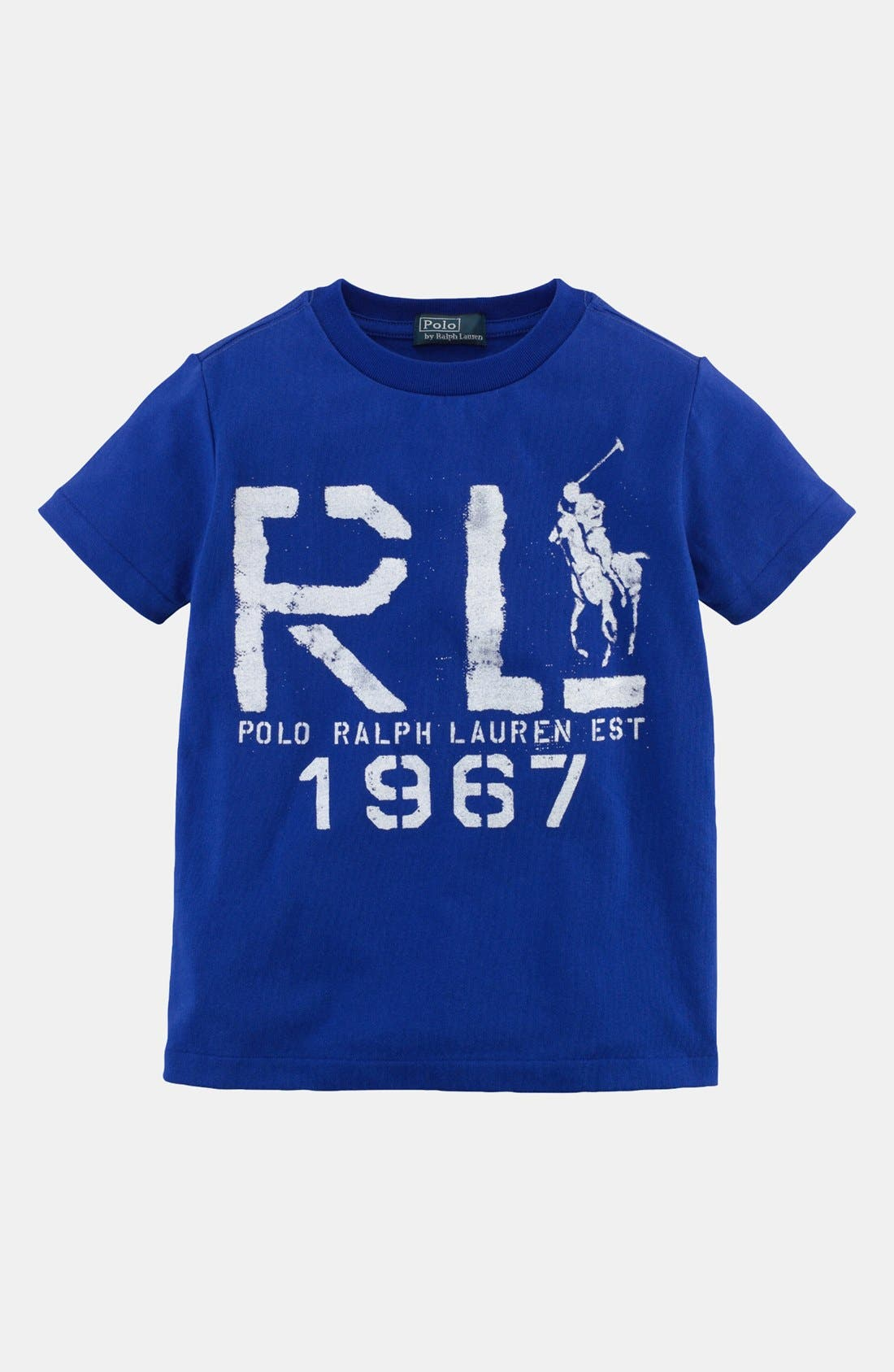 Alternate Image 1 Selected - Ralph Lauren T-Shirt (Toddler Boys)