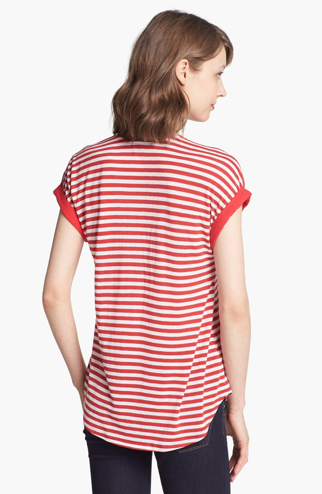 Alternate Image 2  - Ella Moss 'Gabi' Stripe Tee