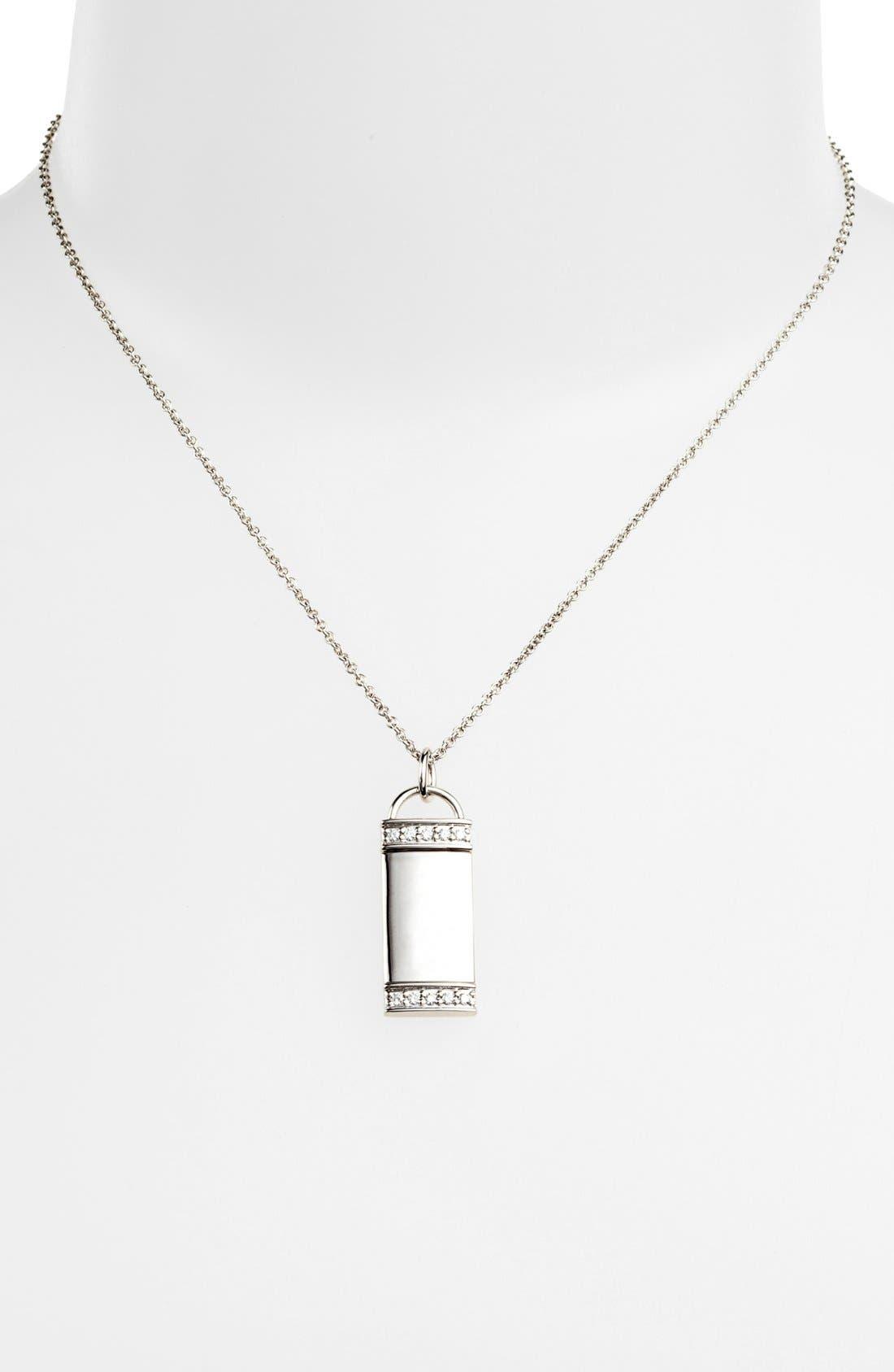 Alternate Image 2  - Kwiat 'Mollie Faith' Tablet Pendant Necklace