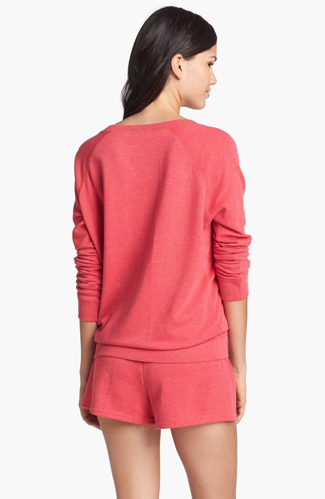 Alternate Image 2  - Make + Model Sweatshirt & Shorts