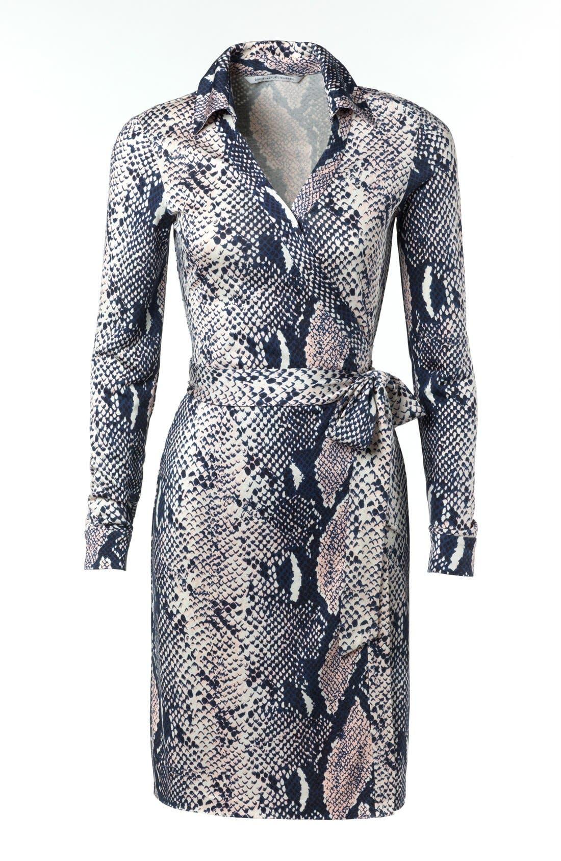 Alternate Image 4  - Diane von Furstenberg 'New Jeanne 2' Silk Jersey Wrap Dress