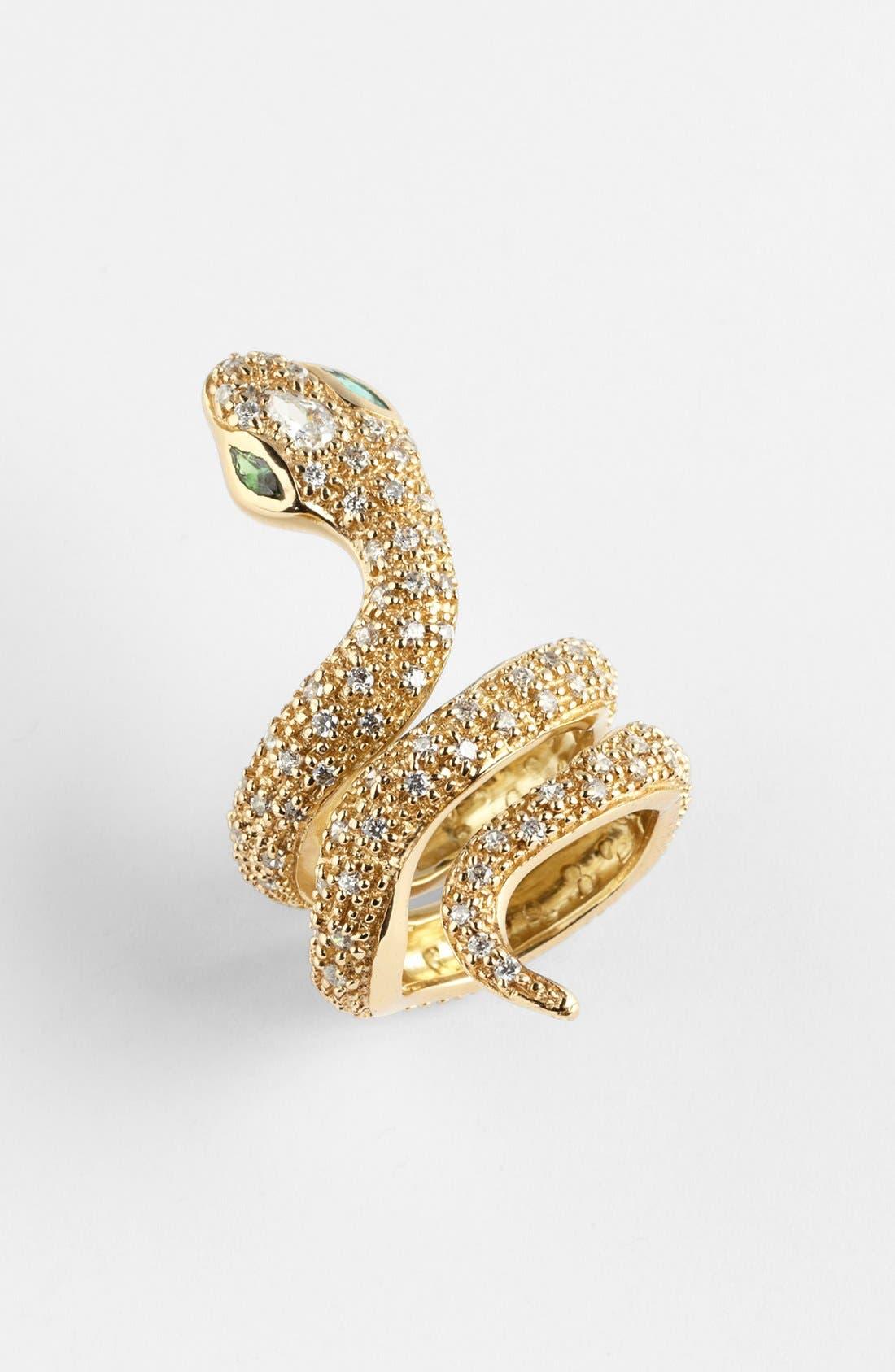 Alternate Image 1 Selected - Melinda Maria 'Python' Coil Ring (Online Only)