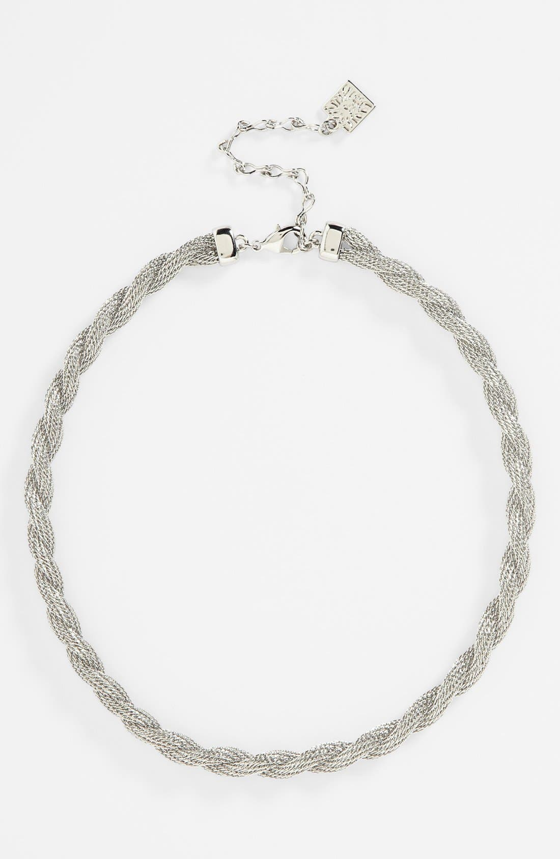 Main Image - Anne Klein Twisted Collar Necklace