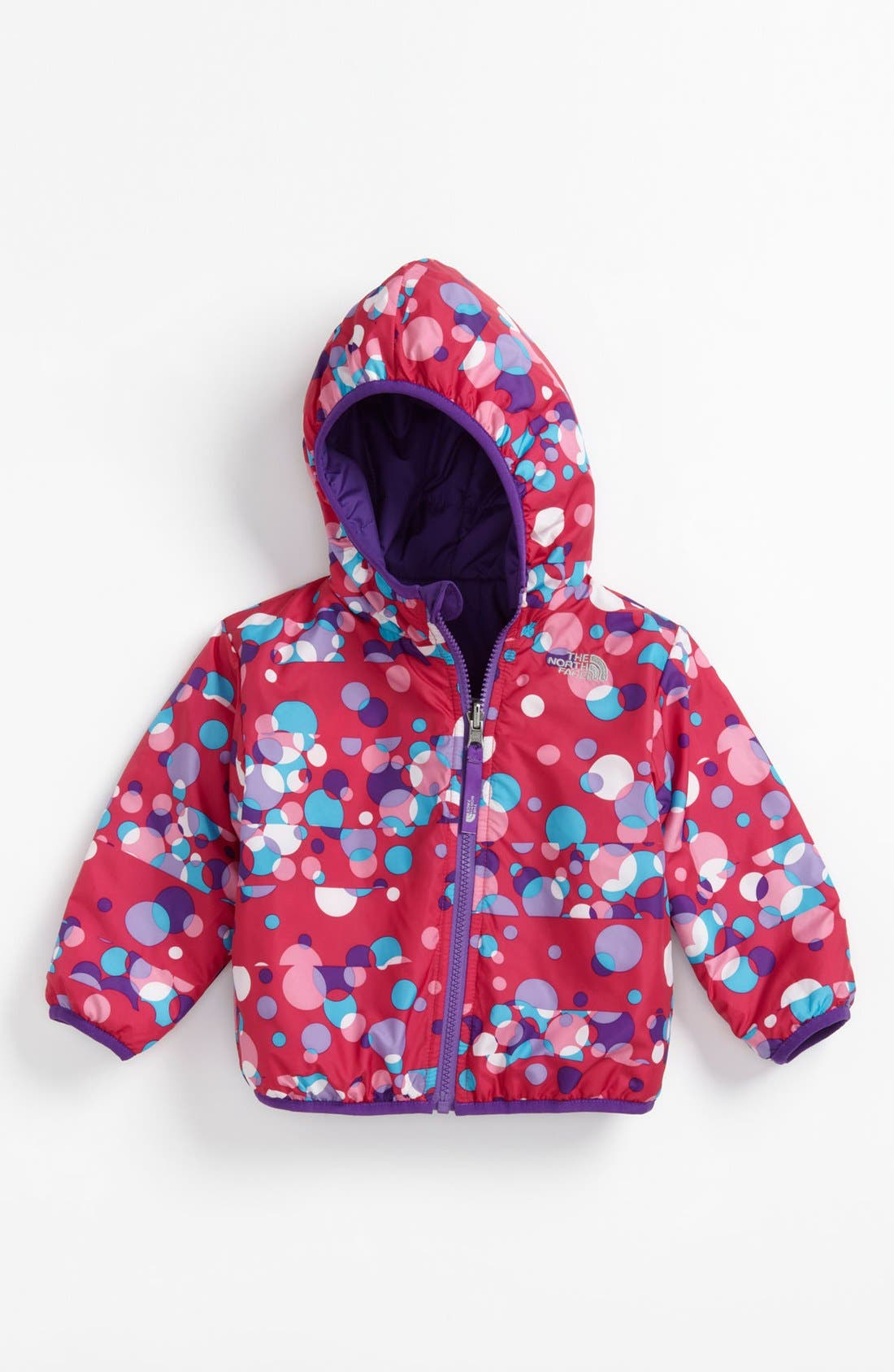 Alternate Image 2  - The North Face 'Perrito' Reversible Jacket (Baby Girls)