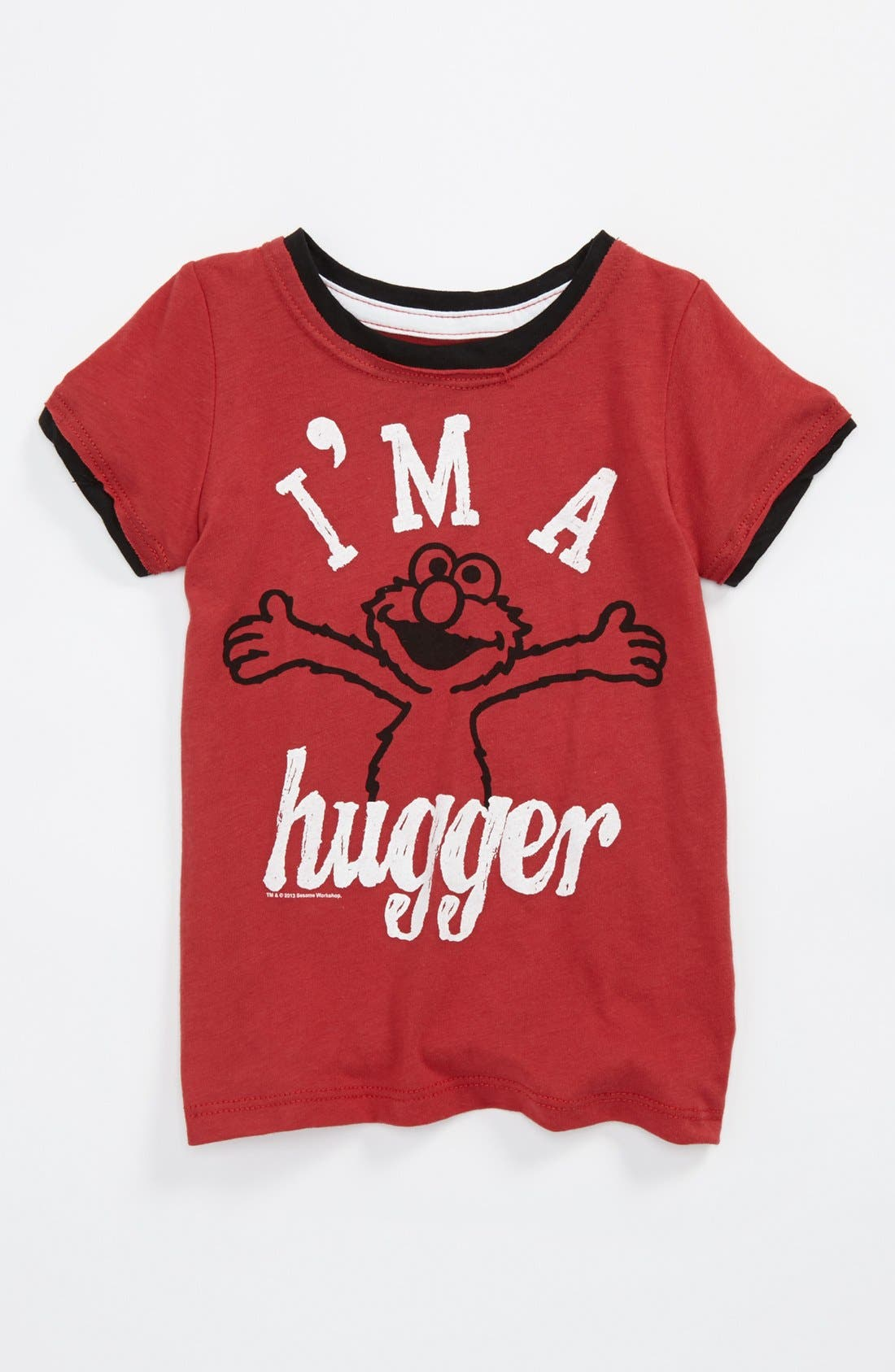 Alternate Image 1 Selected - Mighty Fine 'I'm a Hugger' T-Shirt (Toddler Boys)